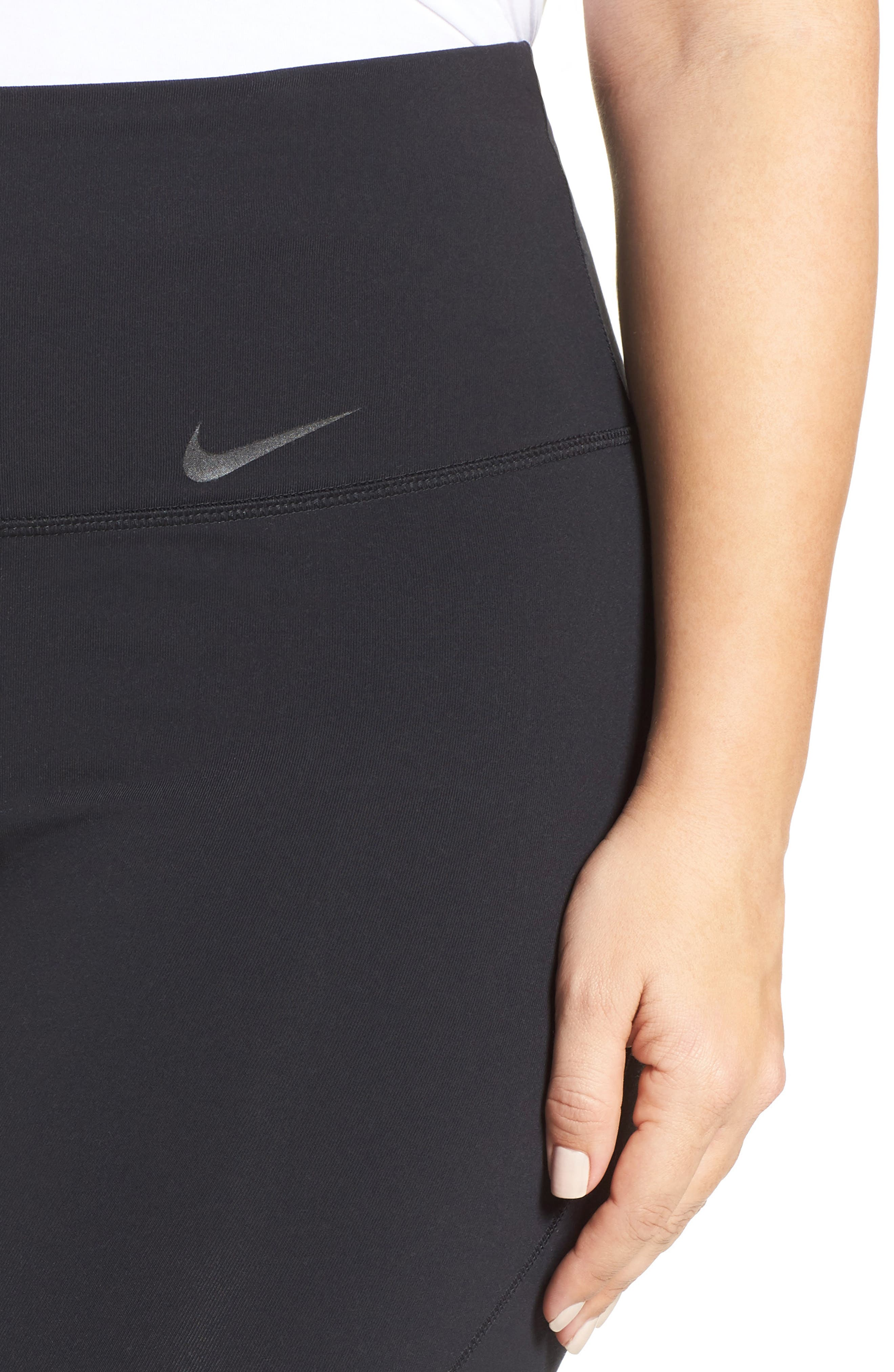 Alternate Image 4  - Nike Power Legendary High Waist Tights (Plus Size)