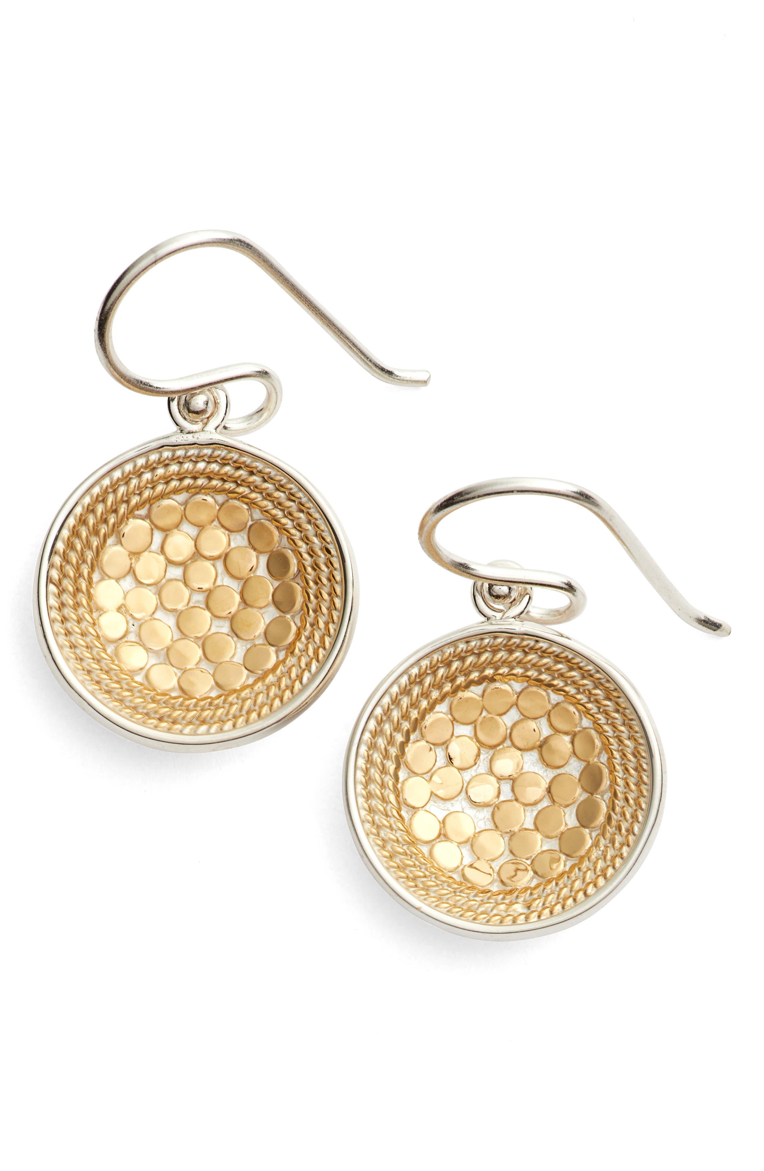 ANNA BECK Dish Drop Earrings