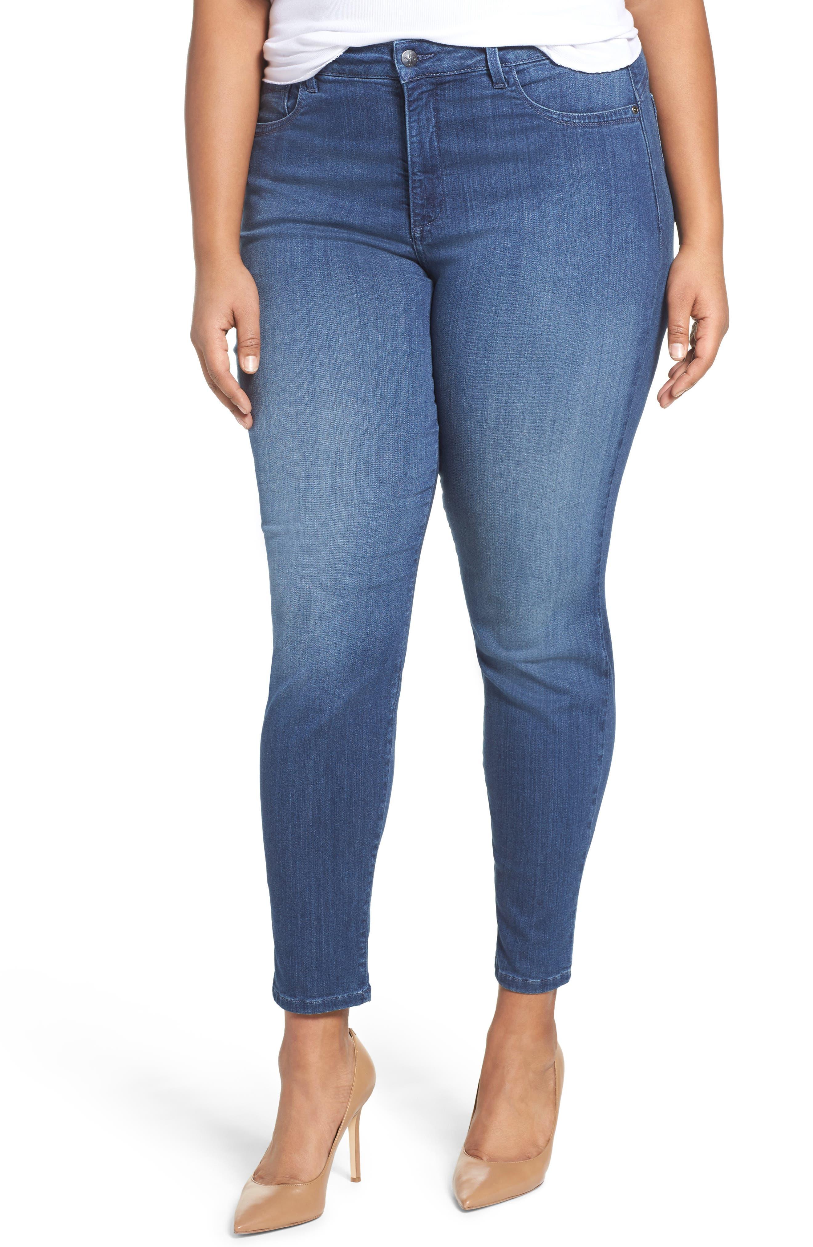 'Ami' Stretch Skinny Jeans,                             Main thumbnail 1, color,                             Nantes