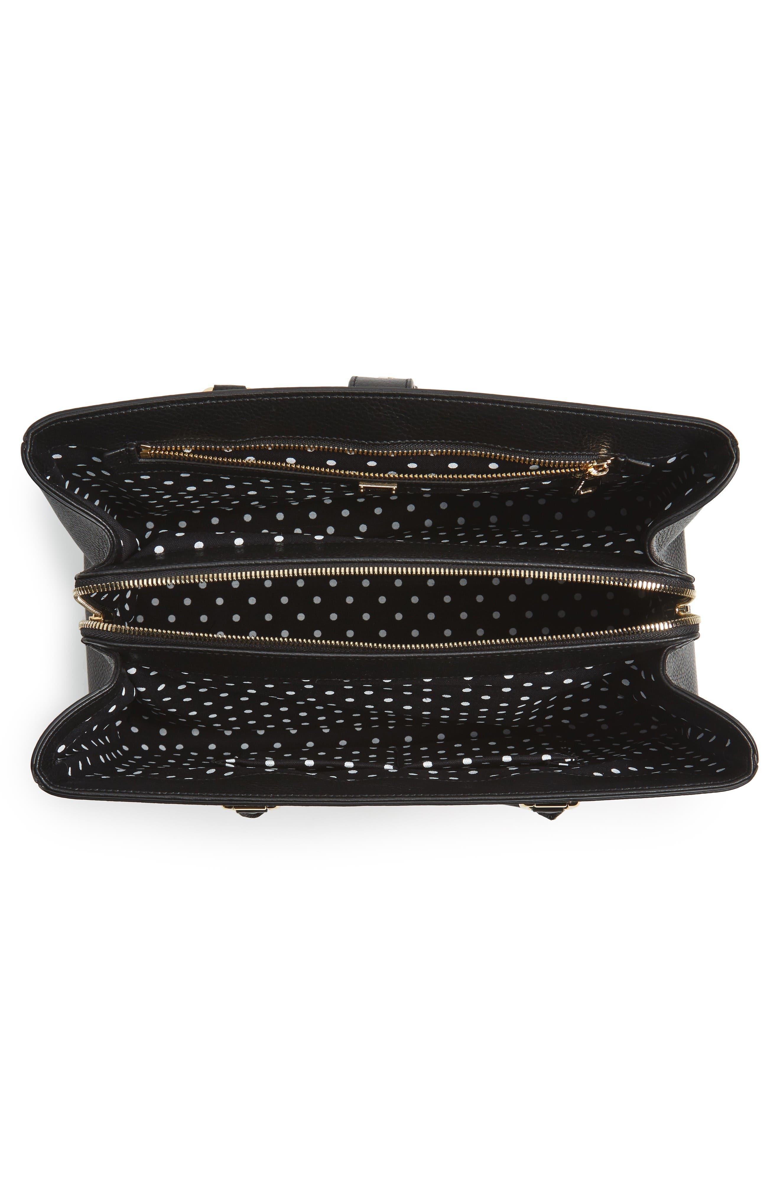 Alternate Image 4  - Dolce&Gabbana Grained Leather Shopper