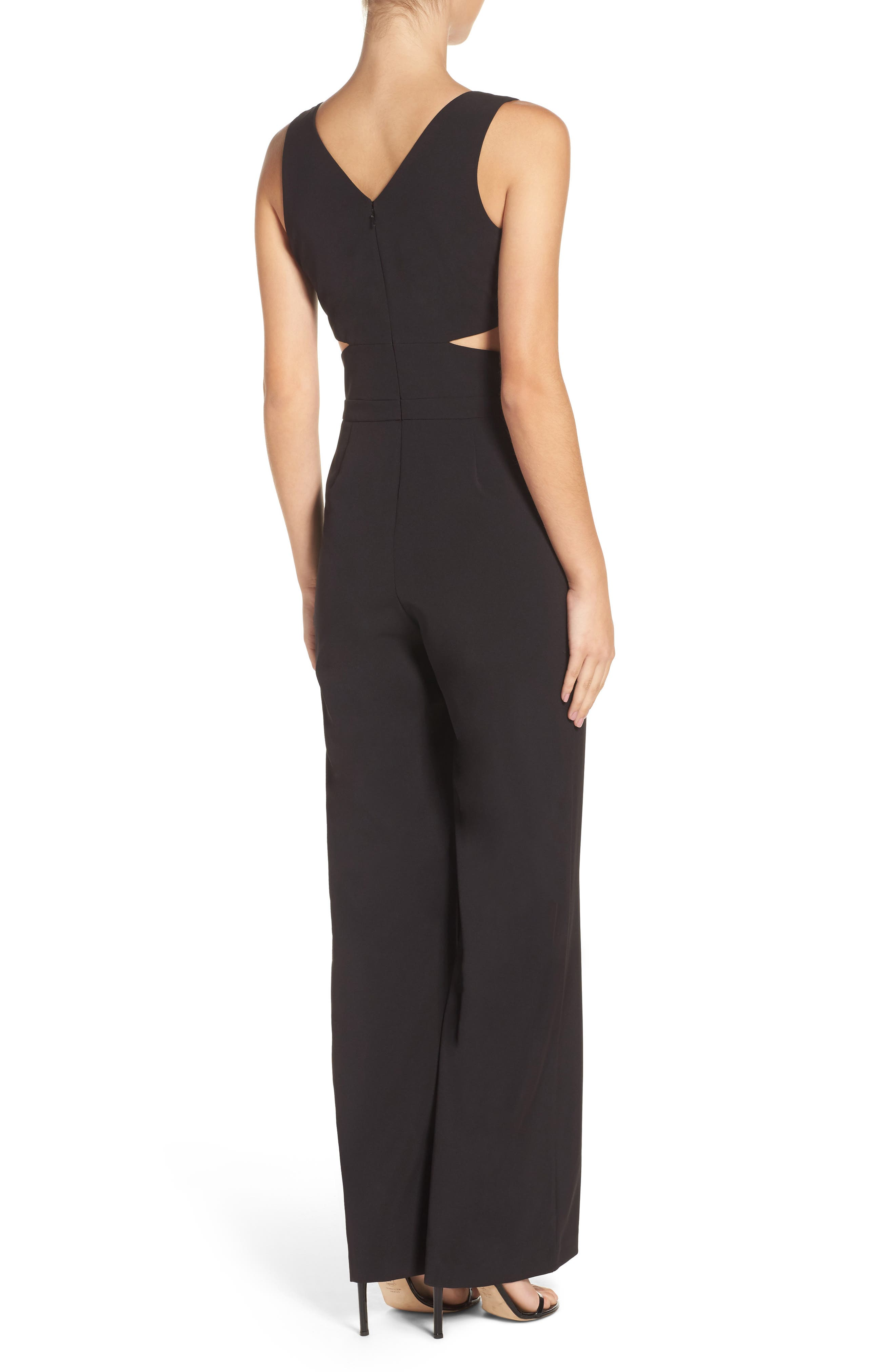 Alternate Image 2  - Laundry by Shelli Segal Cutout Jumpsuit