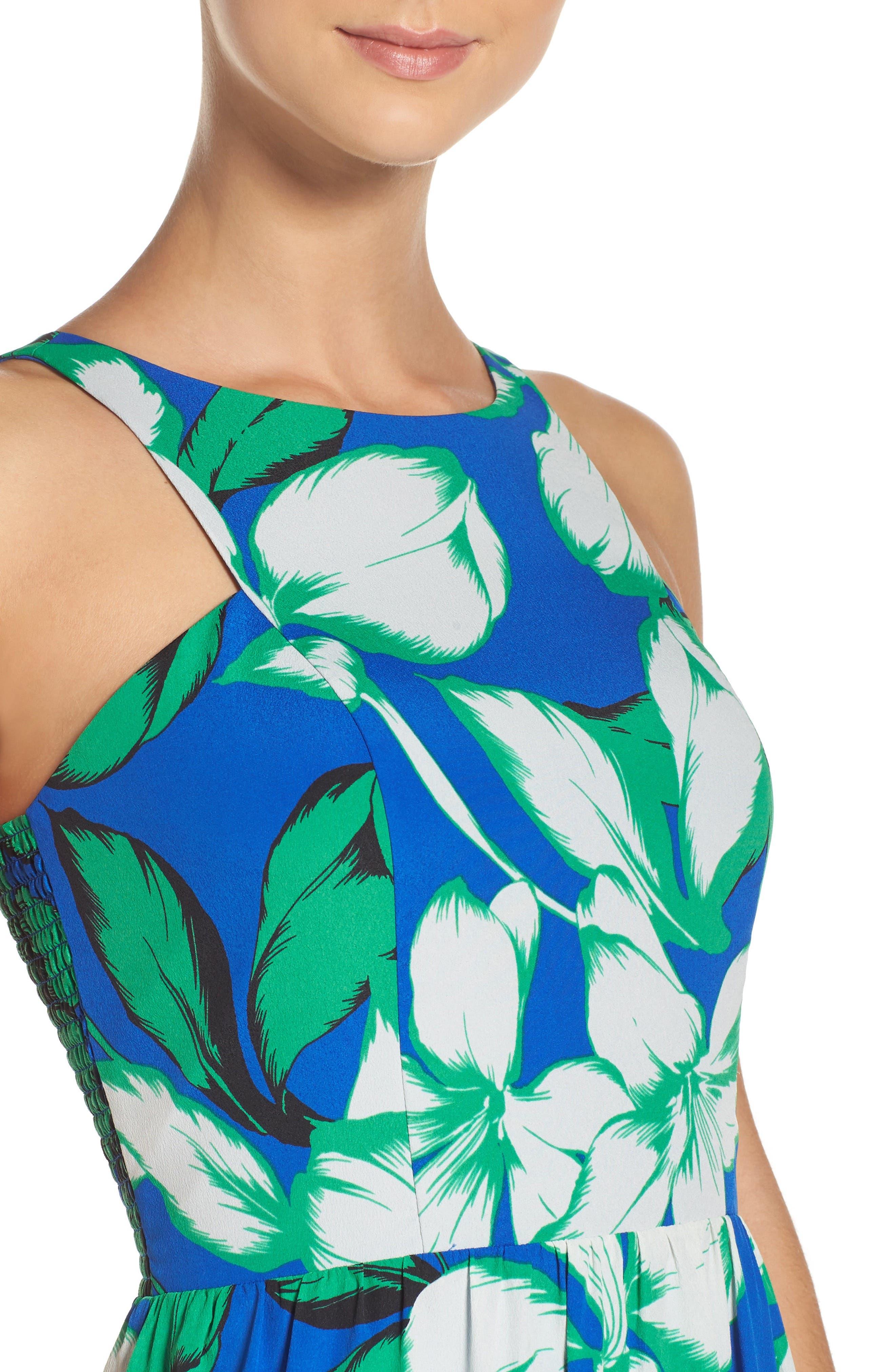 Alternate Image 4  - Chelsea28 Cutaway Shoulder Maxi Dress