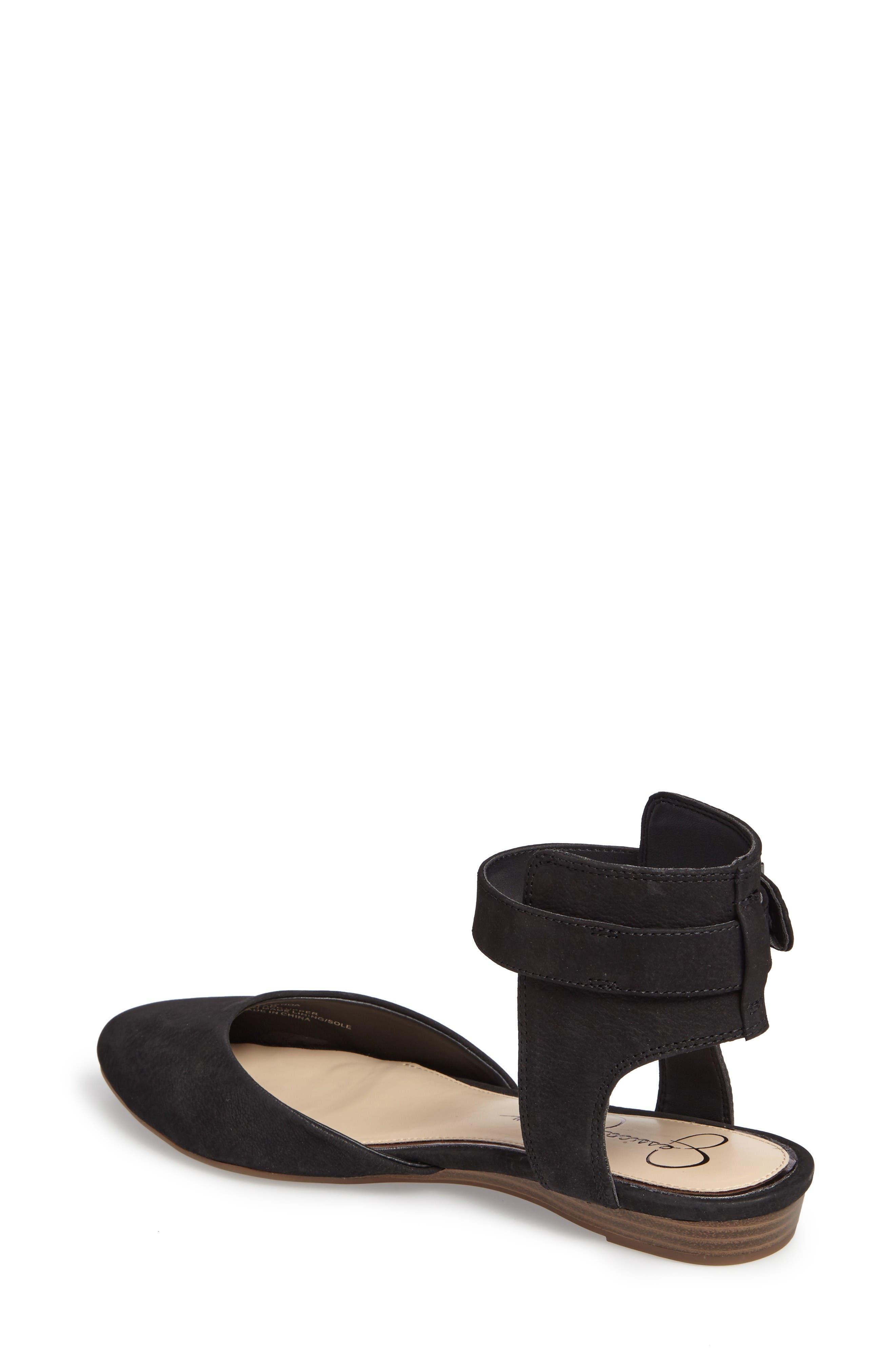 Alternate Image 2  - Jessica Simpson Loranda Ankle Strap Flat (Women)