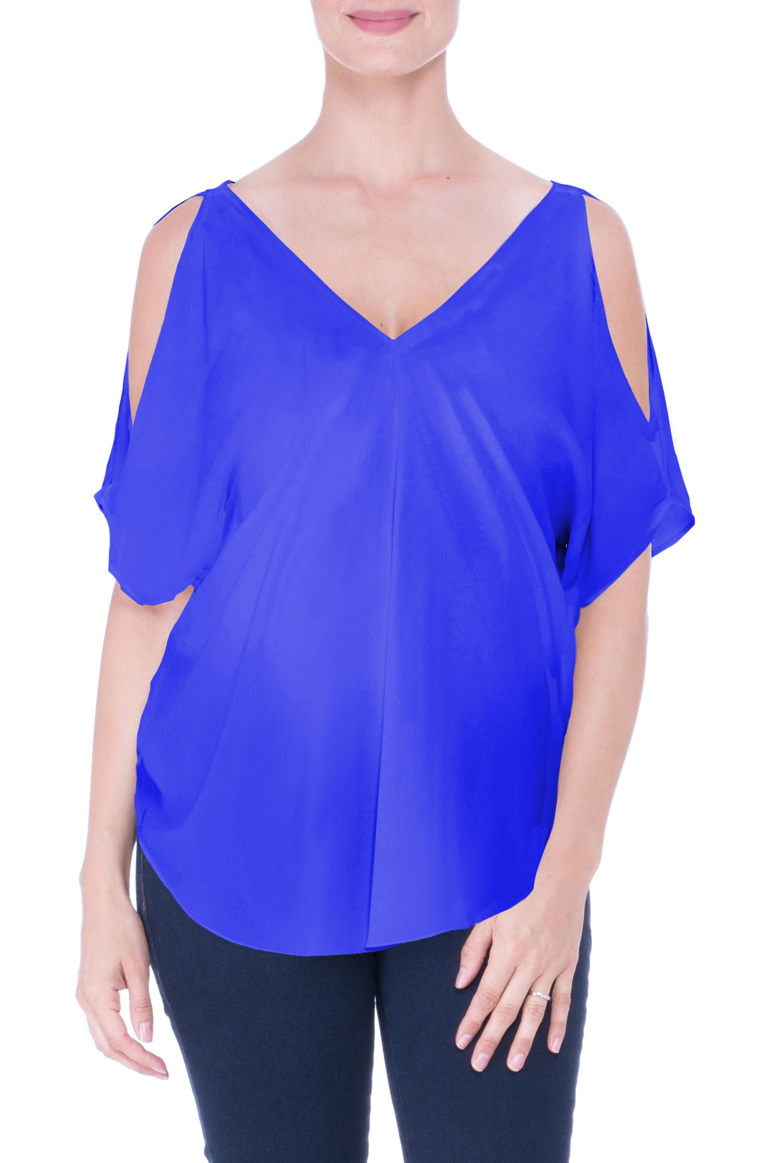 Olian Cold Shoulder Matenity Top