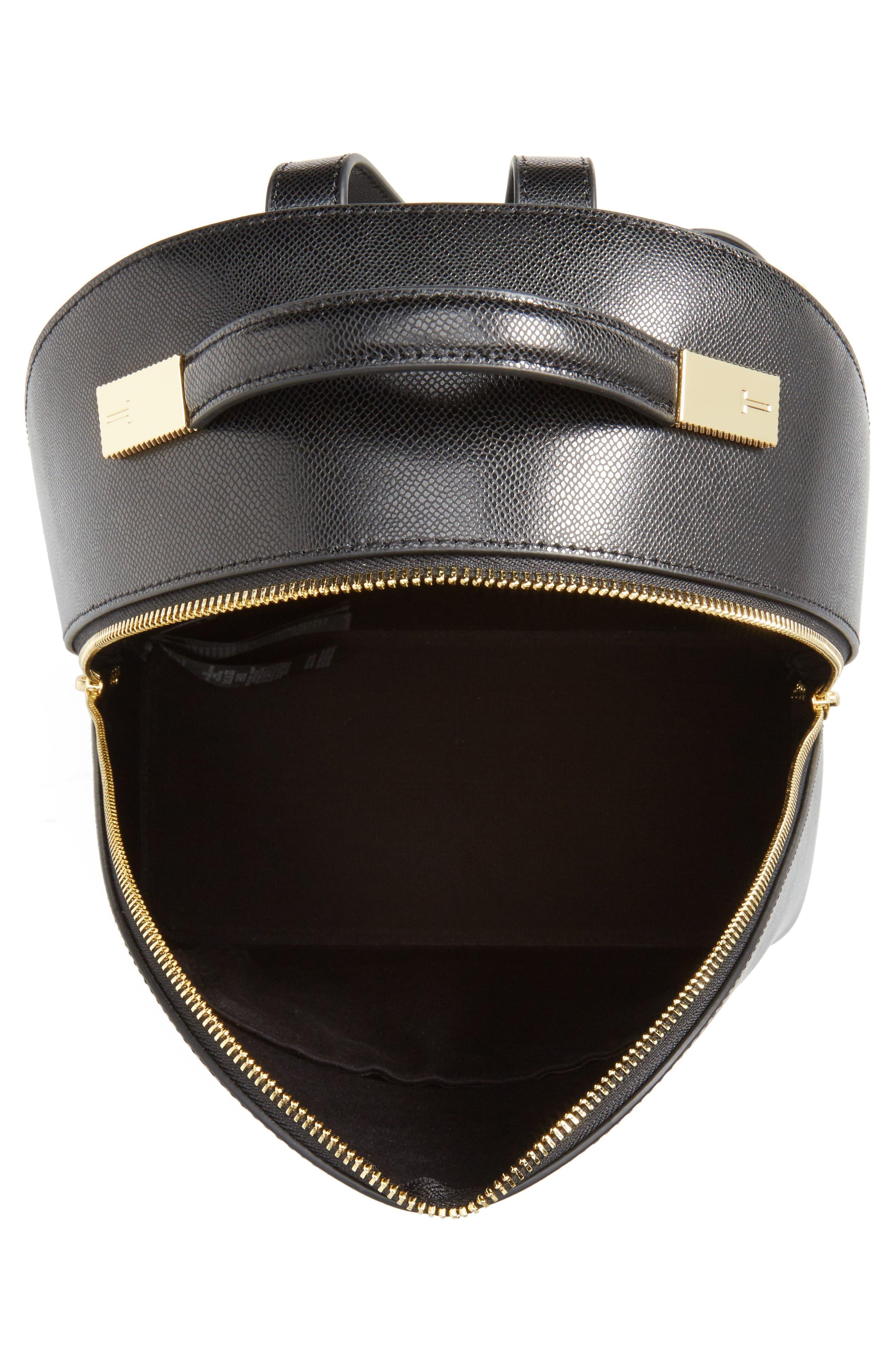 Alternate Image 4  - Ted Baker London Mini Jarvis Leather Backpack