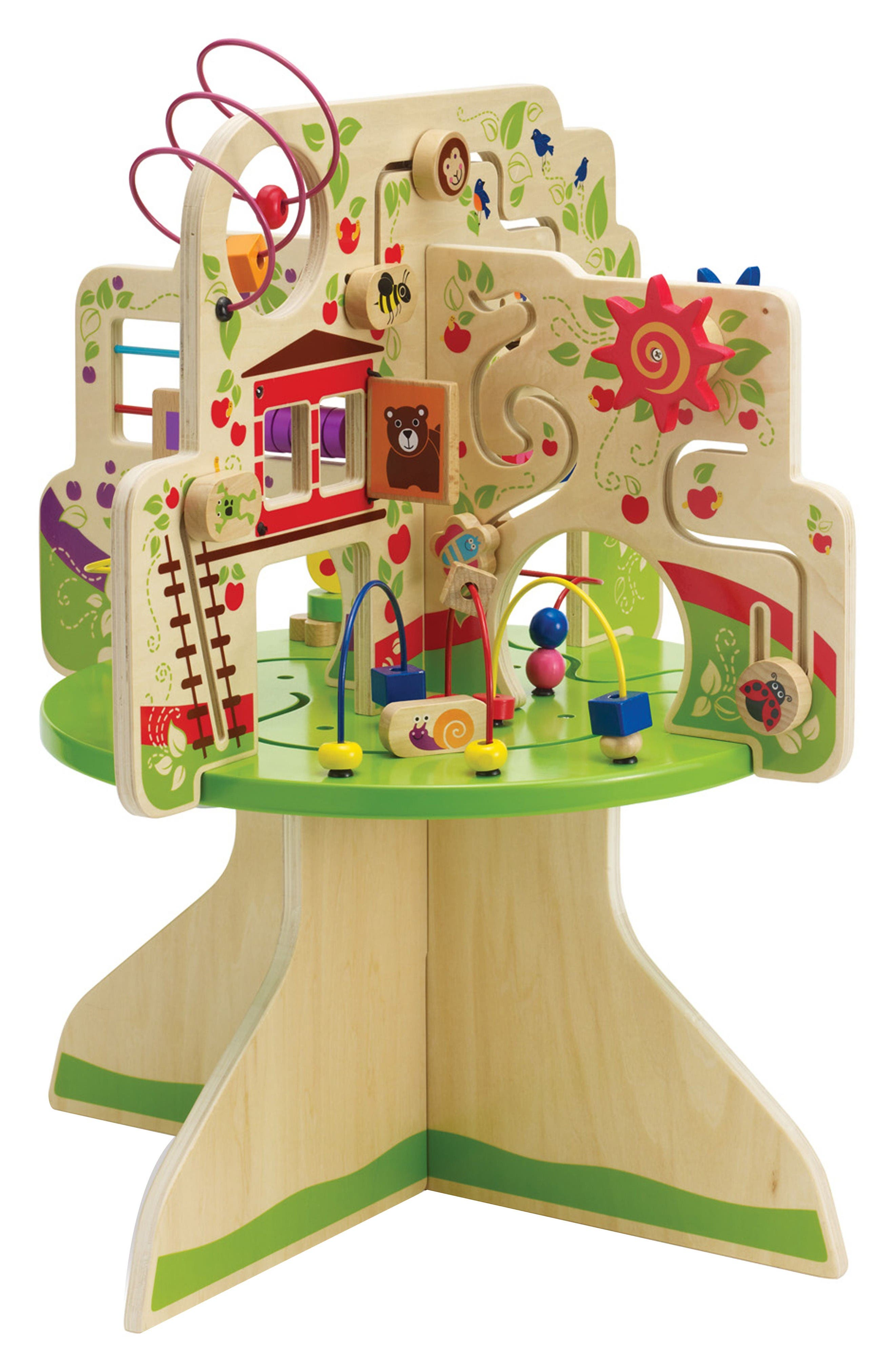 Wooden Tree Top Adventure Activity Center,                             Main thumbnail 1, color,                             Green