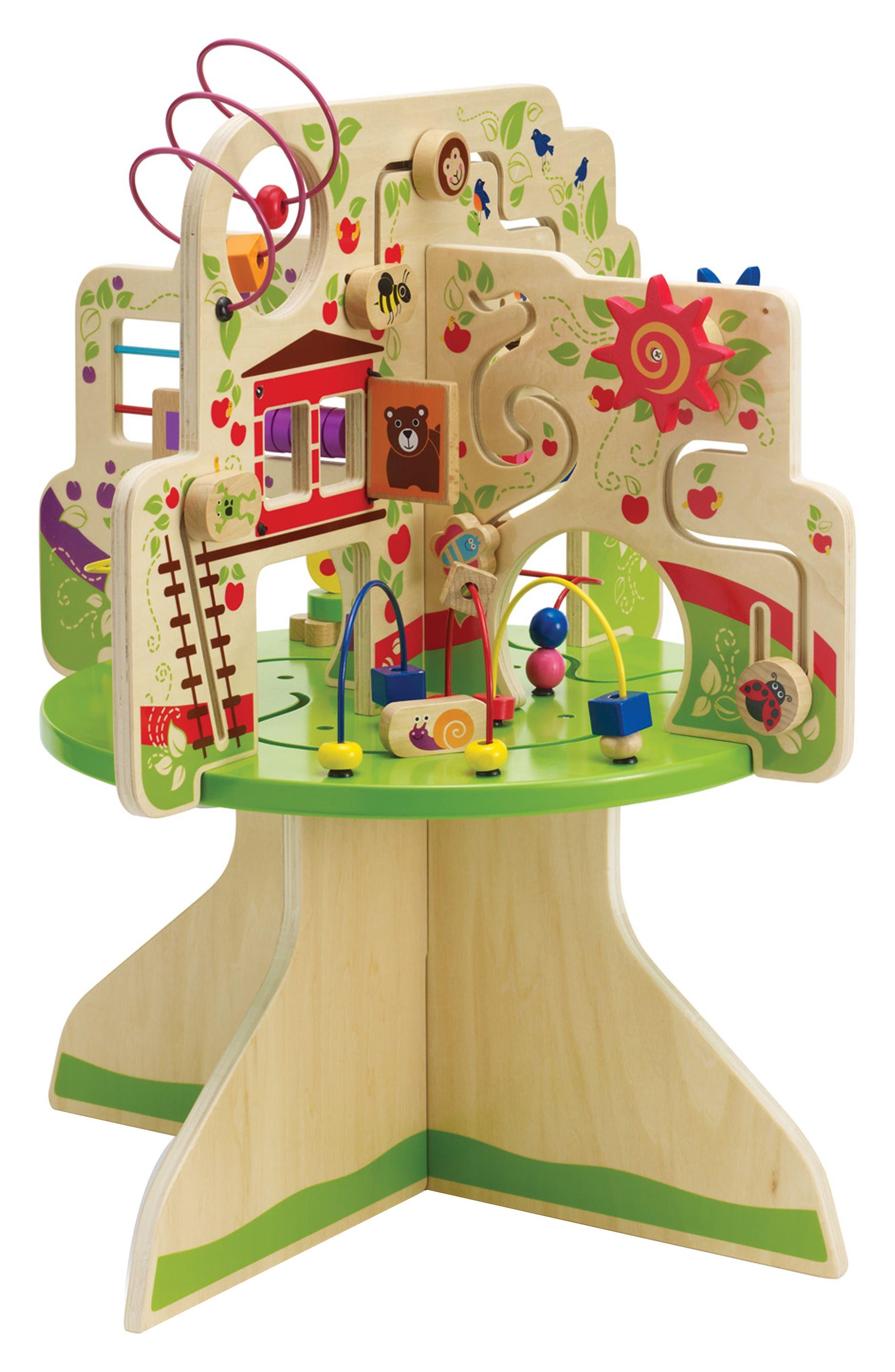 Manhattan Toy Wooden Tree Top Adventure Activity Center