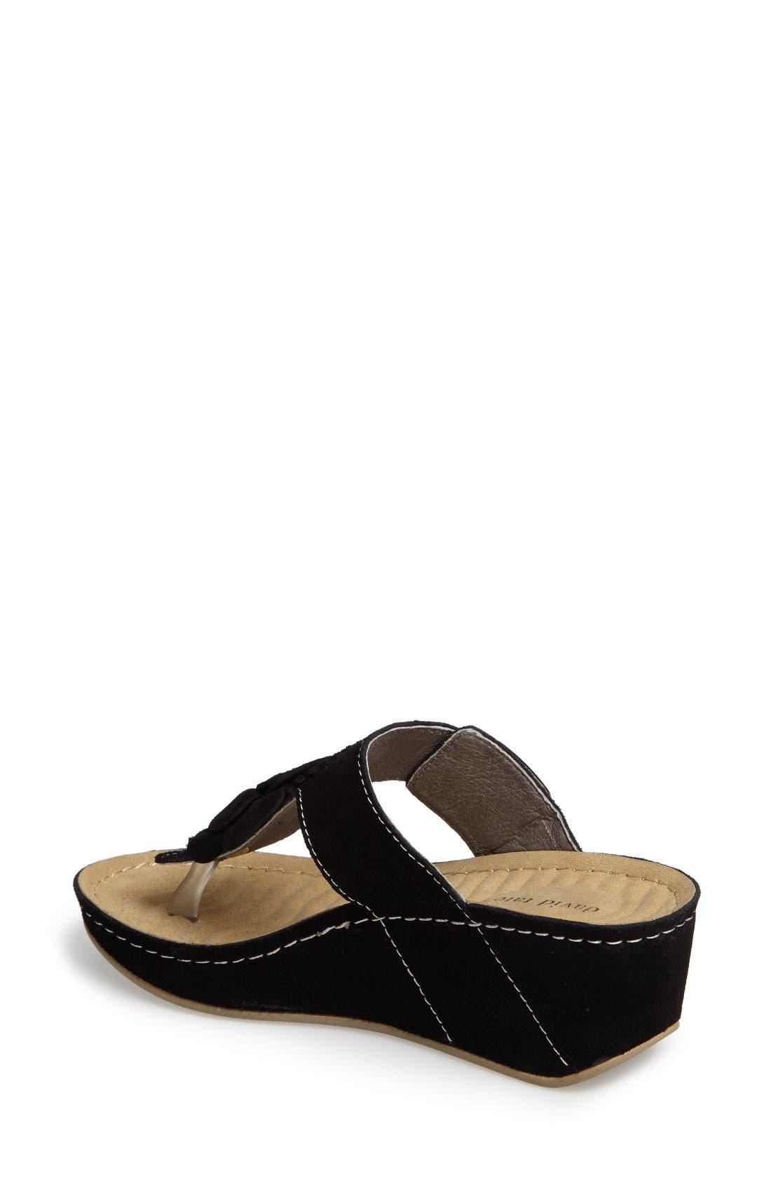Alternate Image 2  - David Tate Spring Platform Wedge Sandal (Women)
