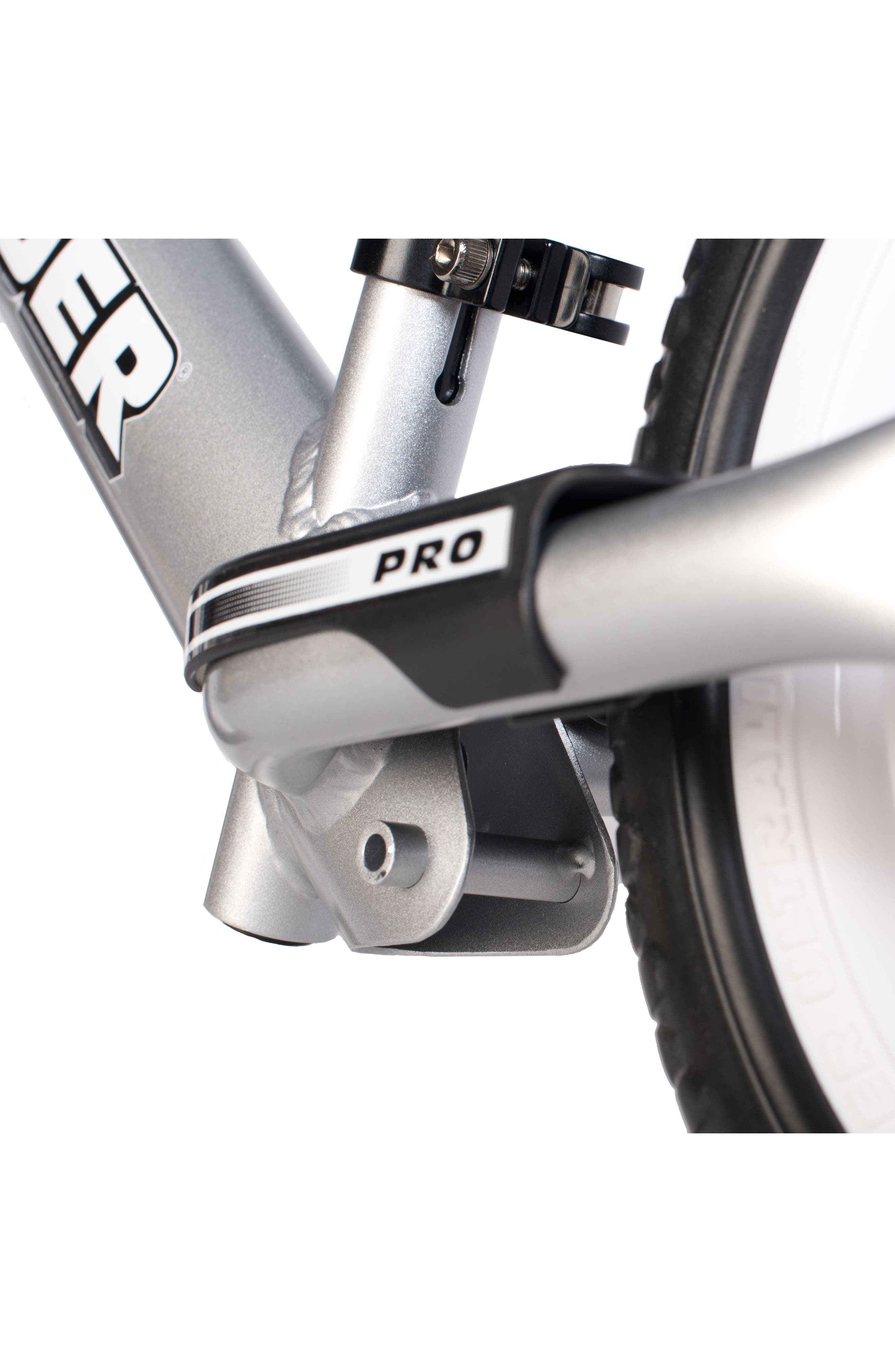 12 Pro Balance No Pedal Bike,                             Alternate thumbnail 3, color,                             Silver