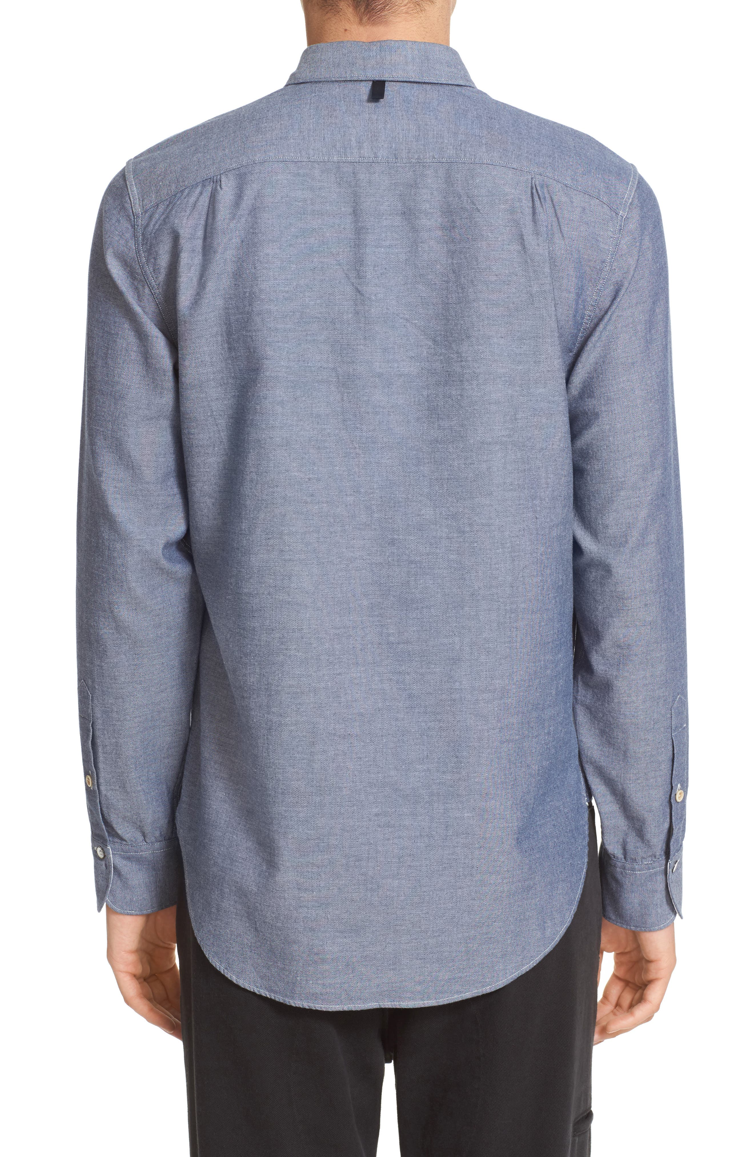 Alternate Image 3  - rag & bone Beach Trim Fit Sport Shirt