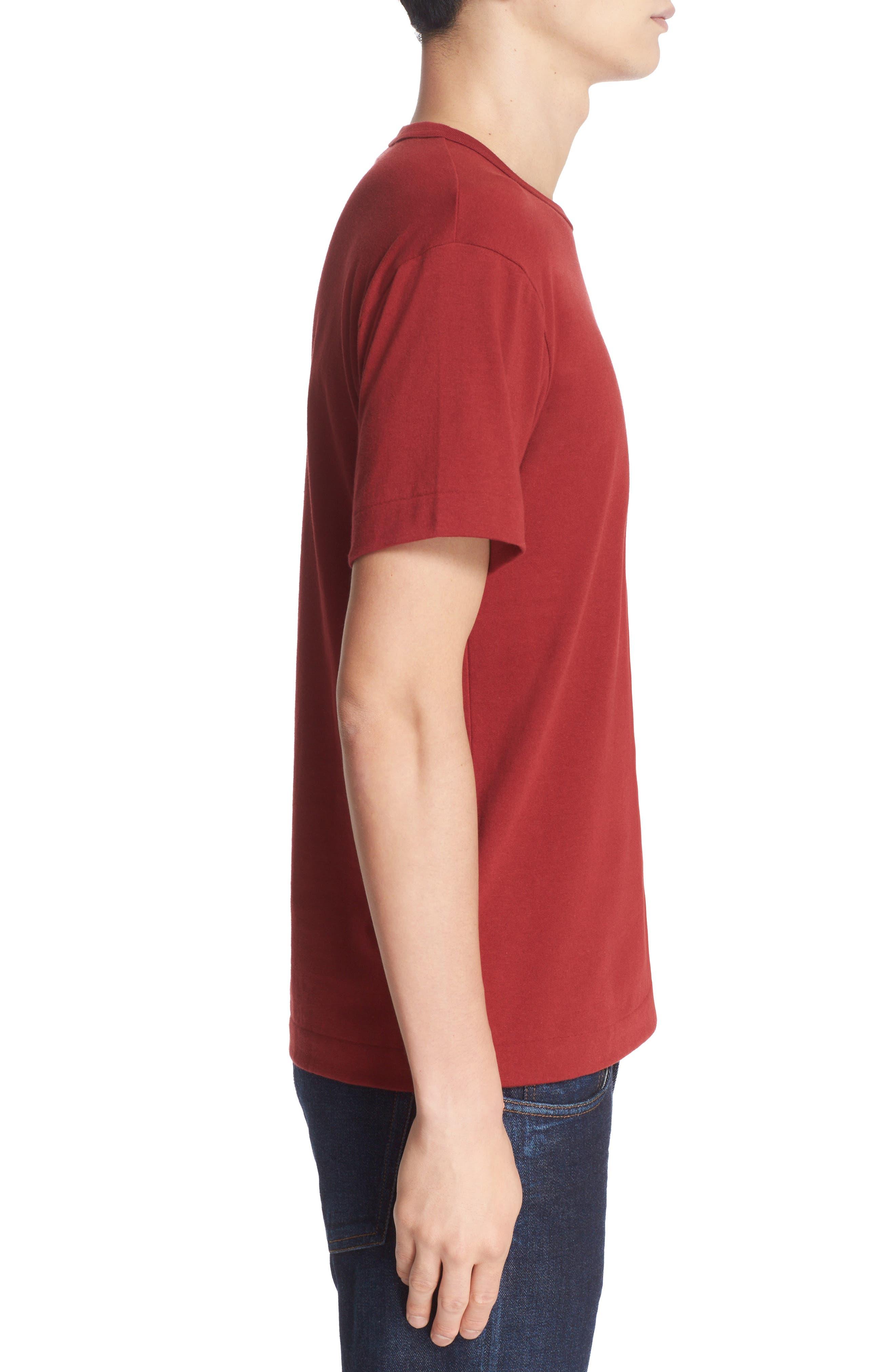 Alternate Image 3  - Comme des Garçons PLAY Twin Hearts Jersey T-Shirt