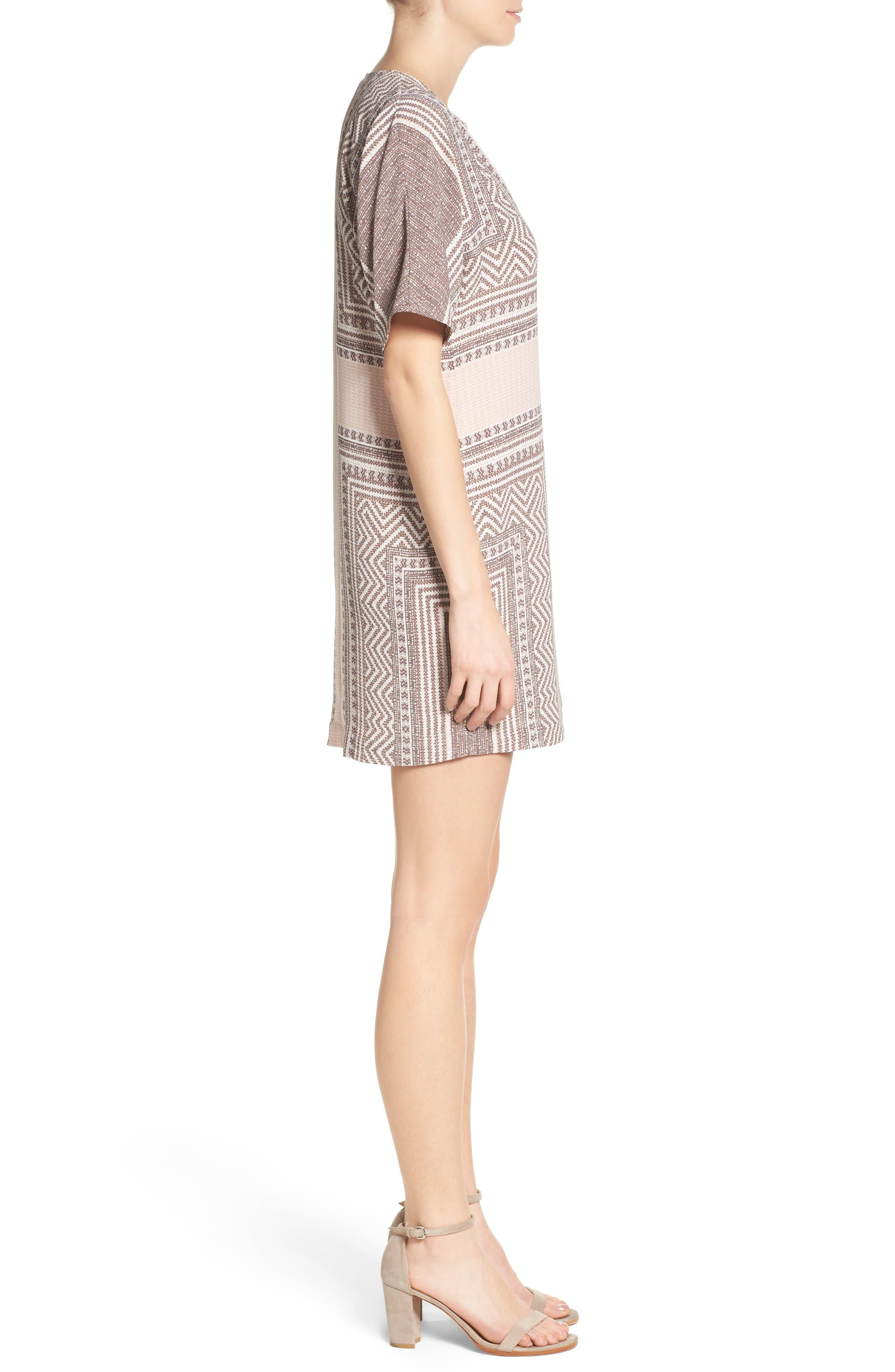 Alternate Image 3  - BCBGMAXAZRIA Scarf Print Dress
