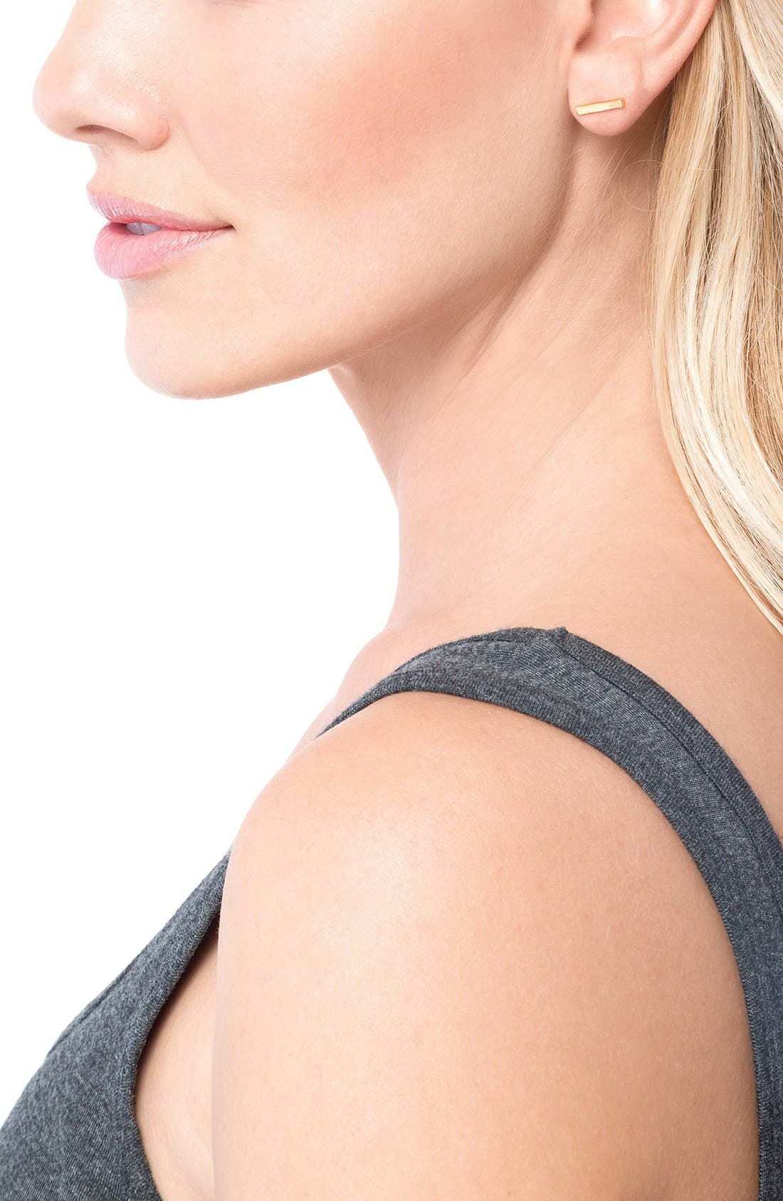 Alternate Image 4  - gorjana Taner Mini Stud Earrings