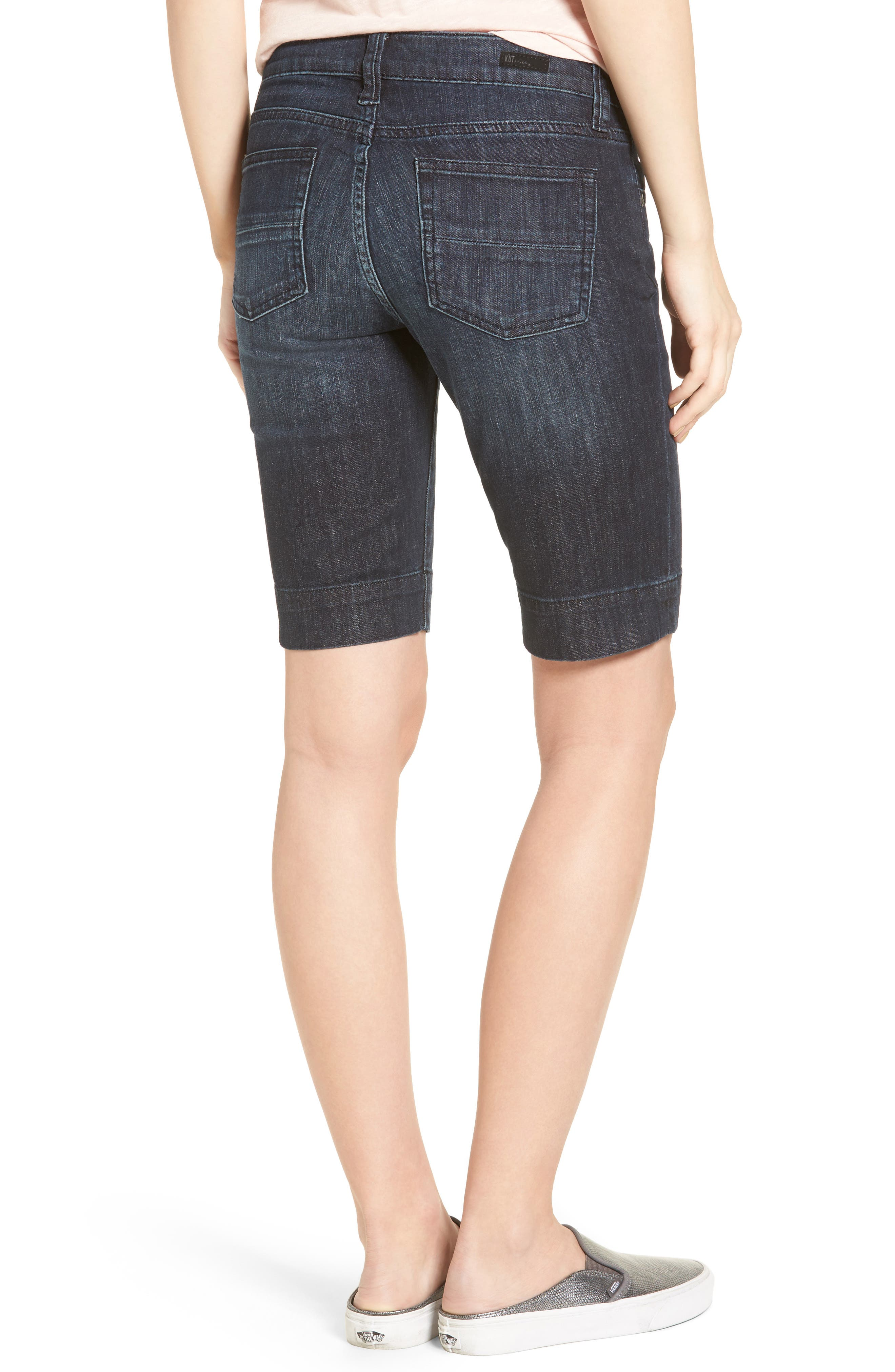 Alternate Image 2  - KUT from the Kloth 'Natalie' Twill Bermuda Shorts