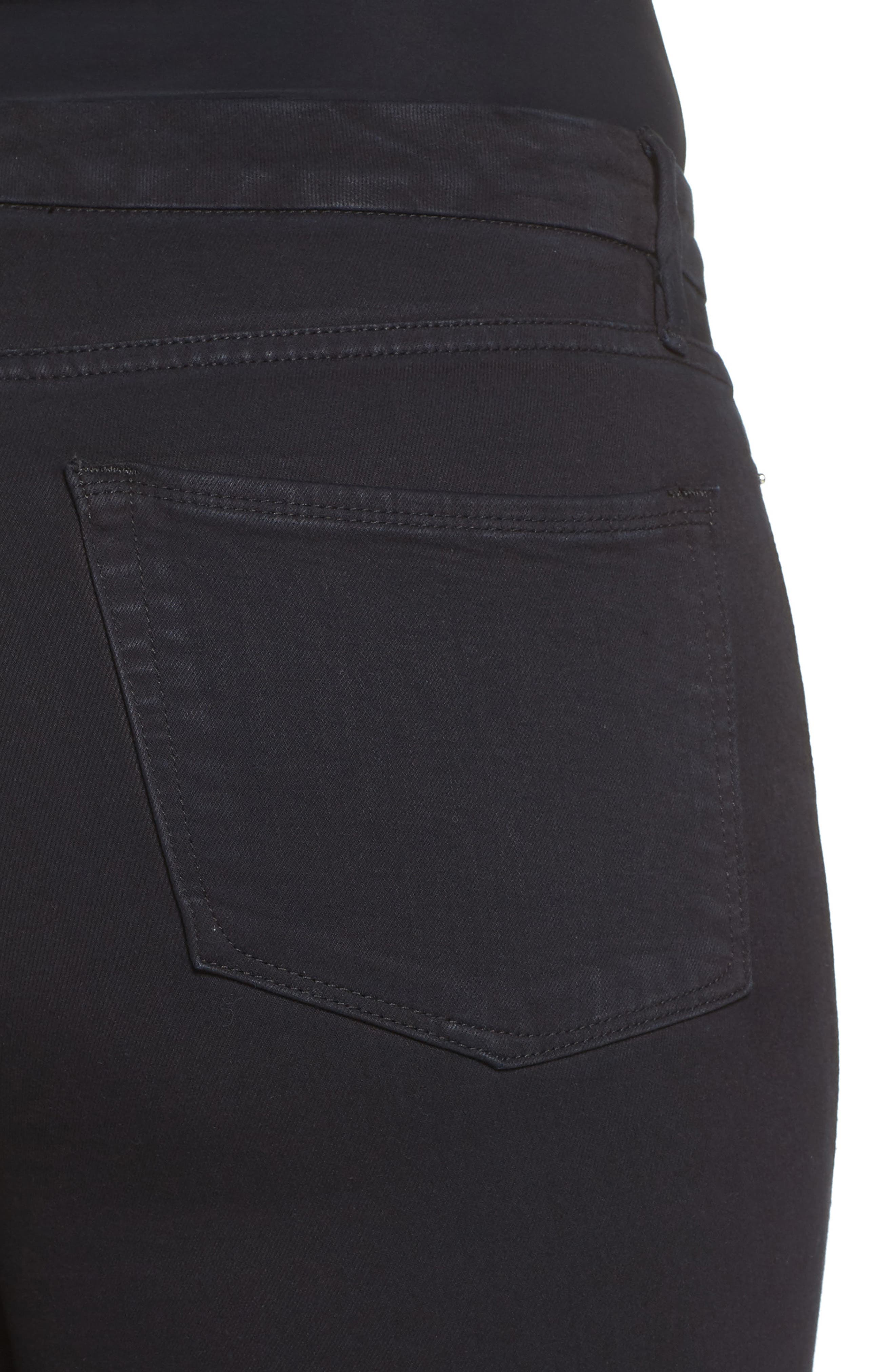 Good Waist High Rise Skinny Jeans,                             Alternate thumbnail 10, color,                             Black 004