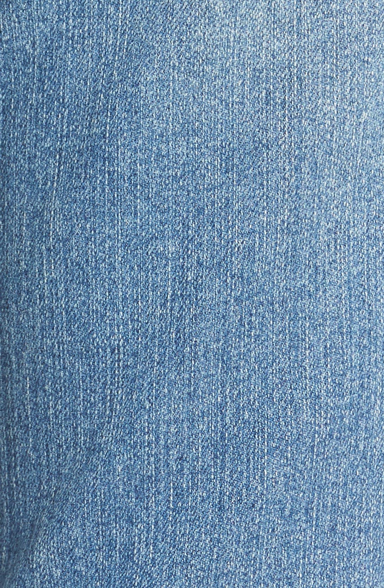 Alternate Image 5  - NYDJ Alina Skinny Jeans (Oxford)