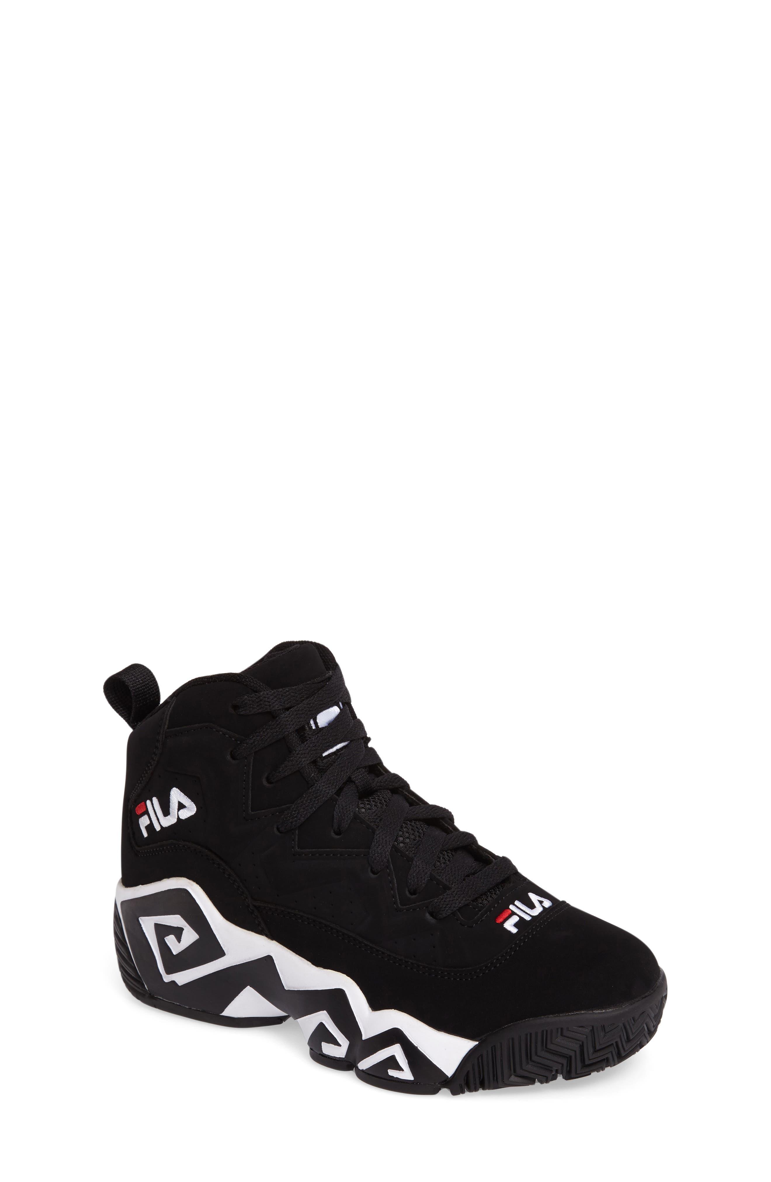 Heritage Sneaker,                             Main thumbnail 1, color,                             Black/ White Nubuck Leather