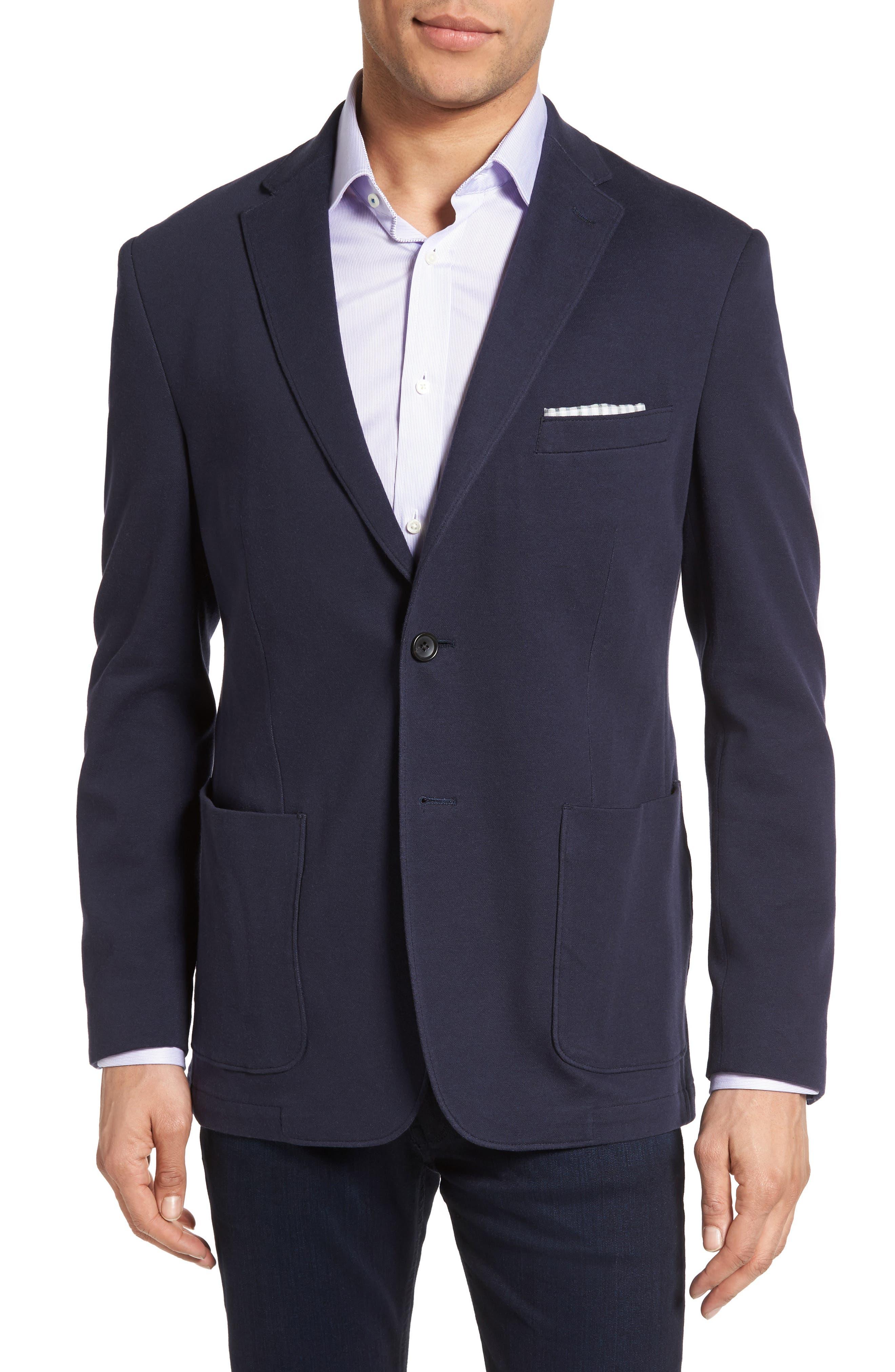 Main Image - Bensol Jersey Sport Coat