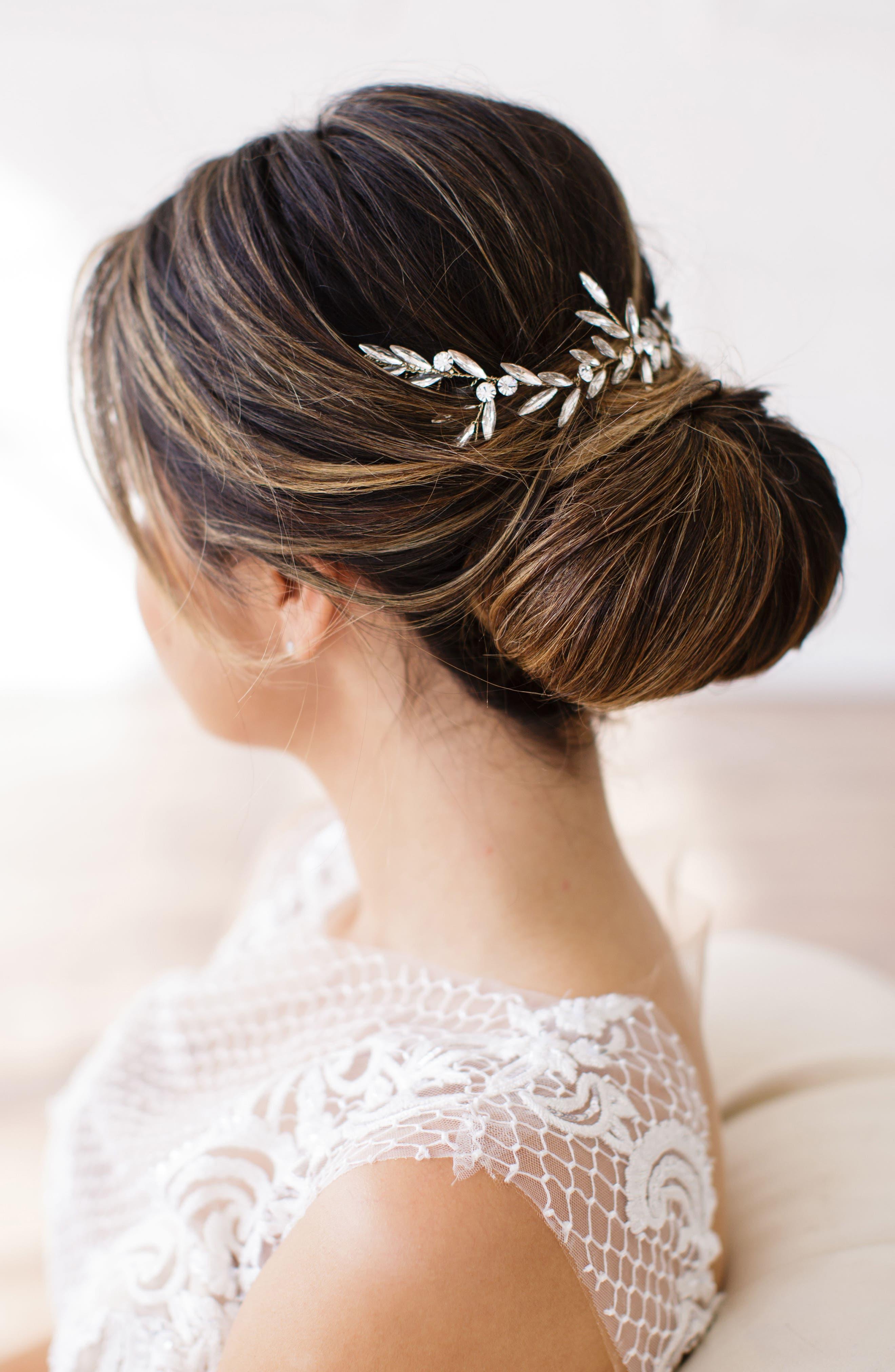 Main Image - Brides & Hairpins Blanca Crystal Headpiece