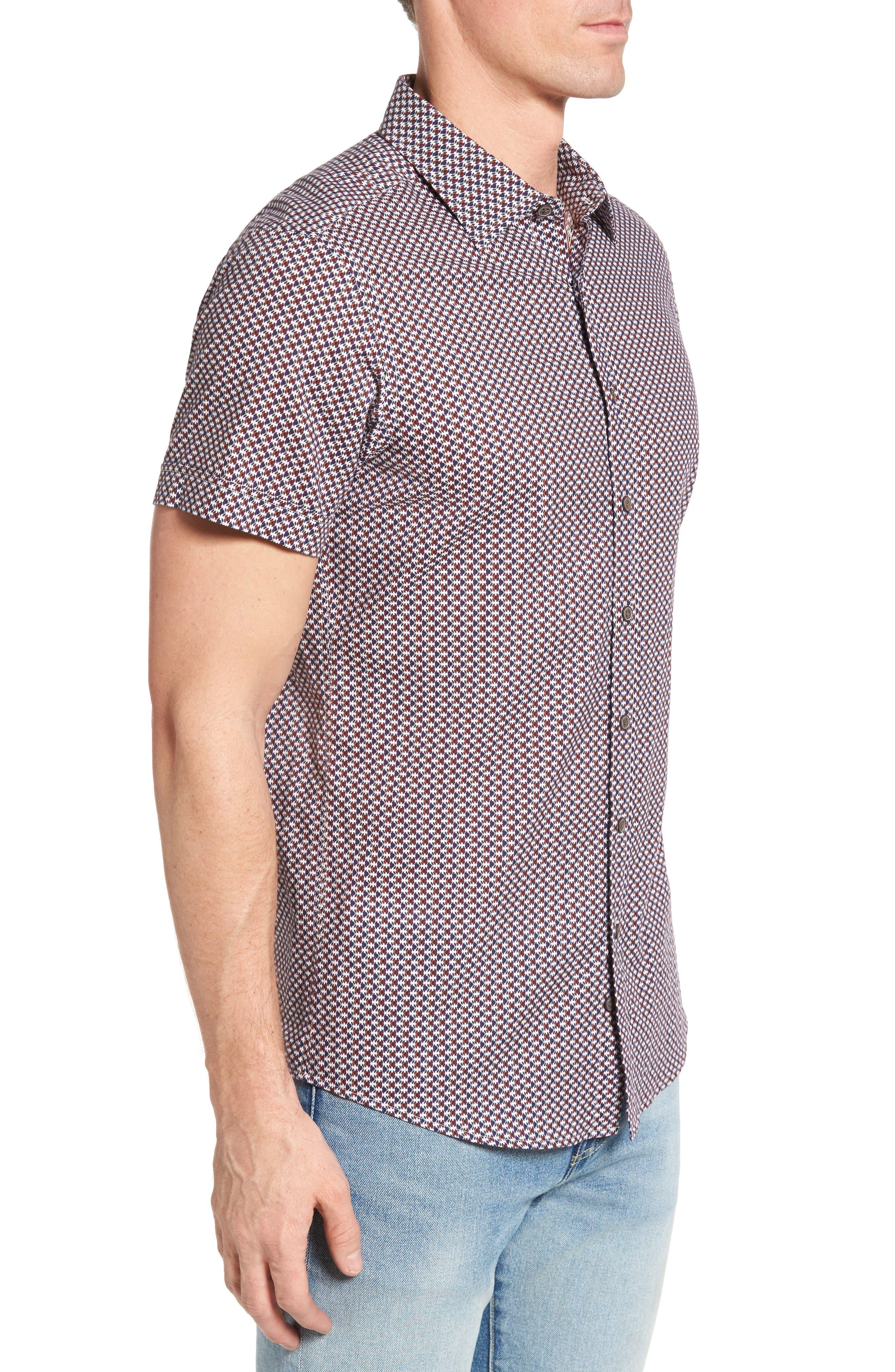 Alternate Image 3  - Rodd & Gunn Vaughan Print Sport Shirt