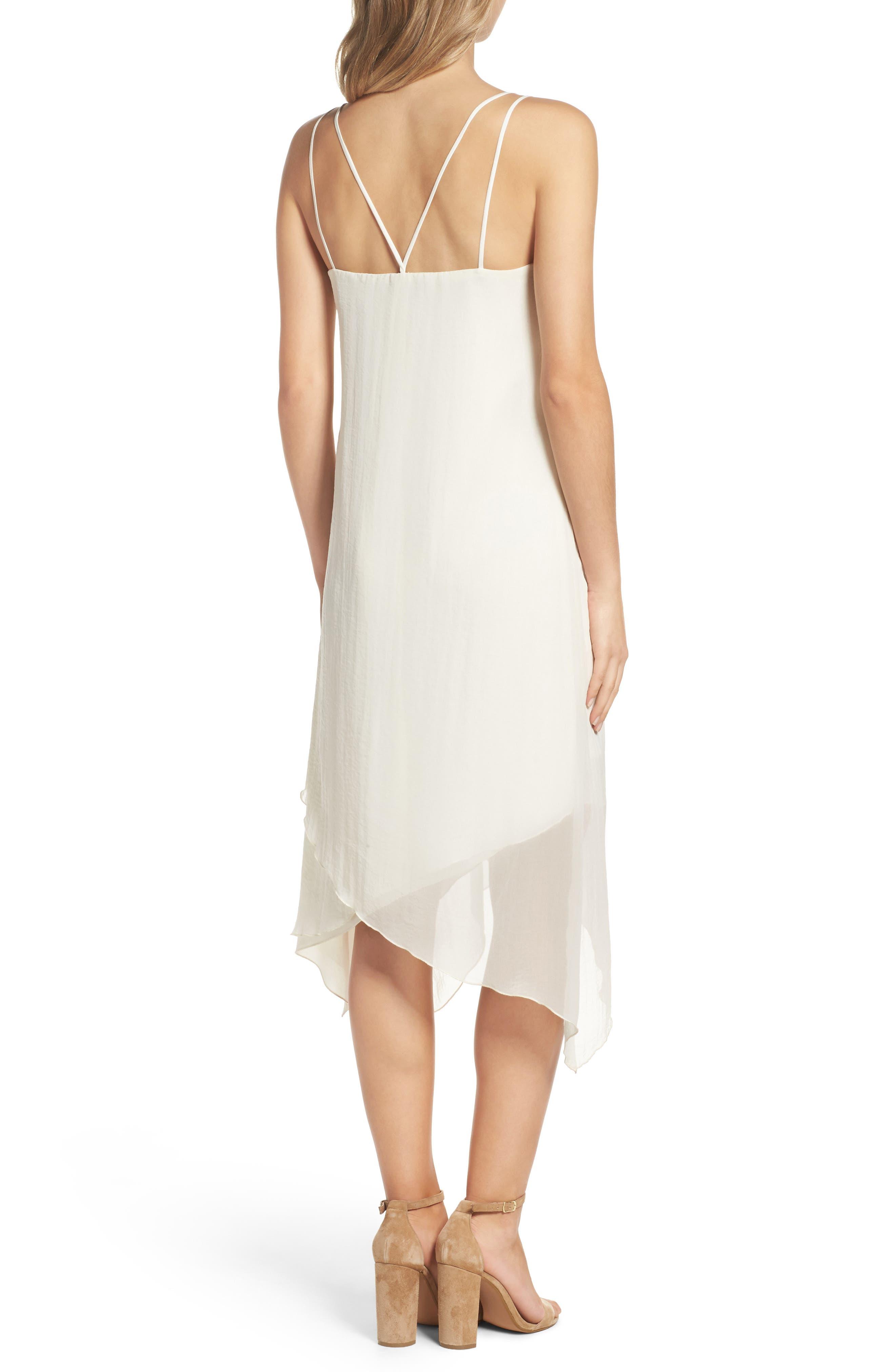 Alternate Image 2  - NSR Chiffon Midi Dress
