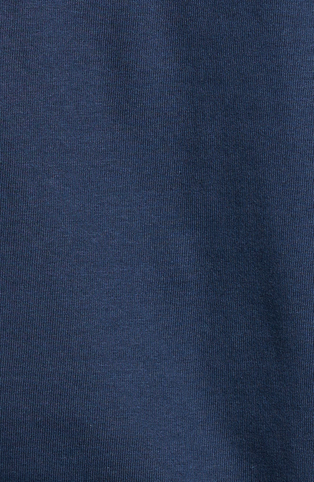 P-6 Logo Organic Cotton T-Shirt,                             Alternate thumbnail 5, color,                             Blue