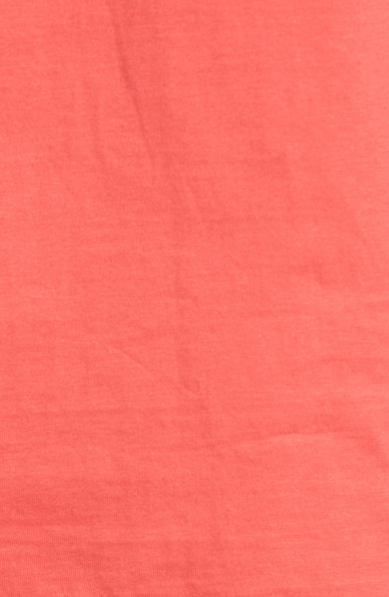 Fusion Pajama Set,                             Alternate thumbnail 5, color,                             Red/ Lead