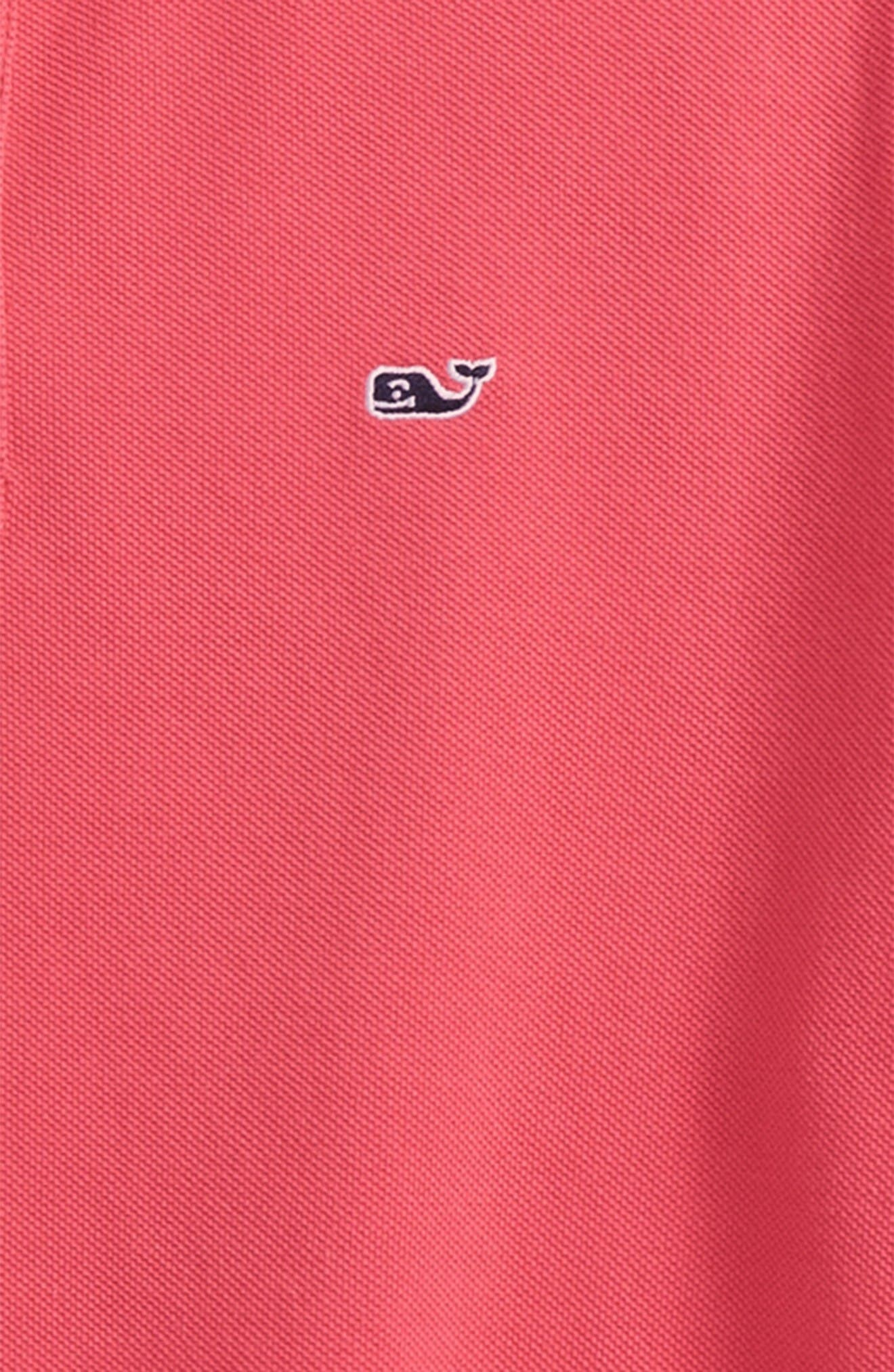 Alternate Image 2  - vineyard vines Classic Piqué Cotton Polo (Toddler Boys, Little Boys & Big Boys)