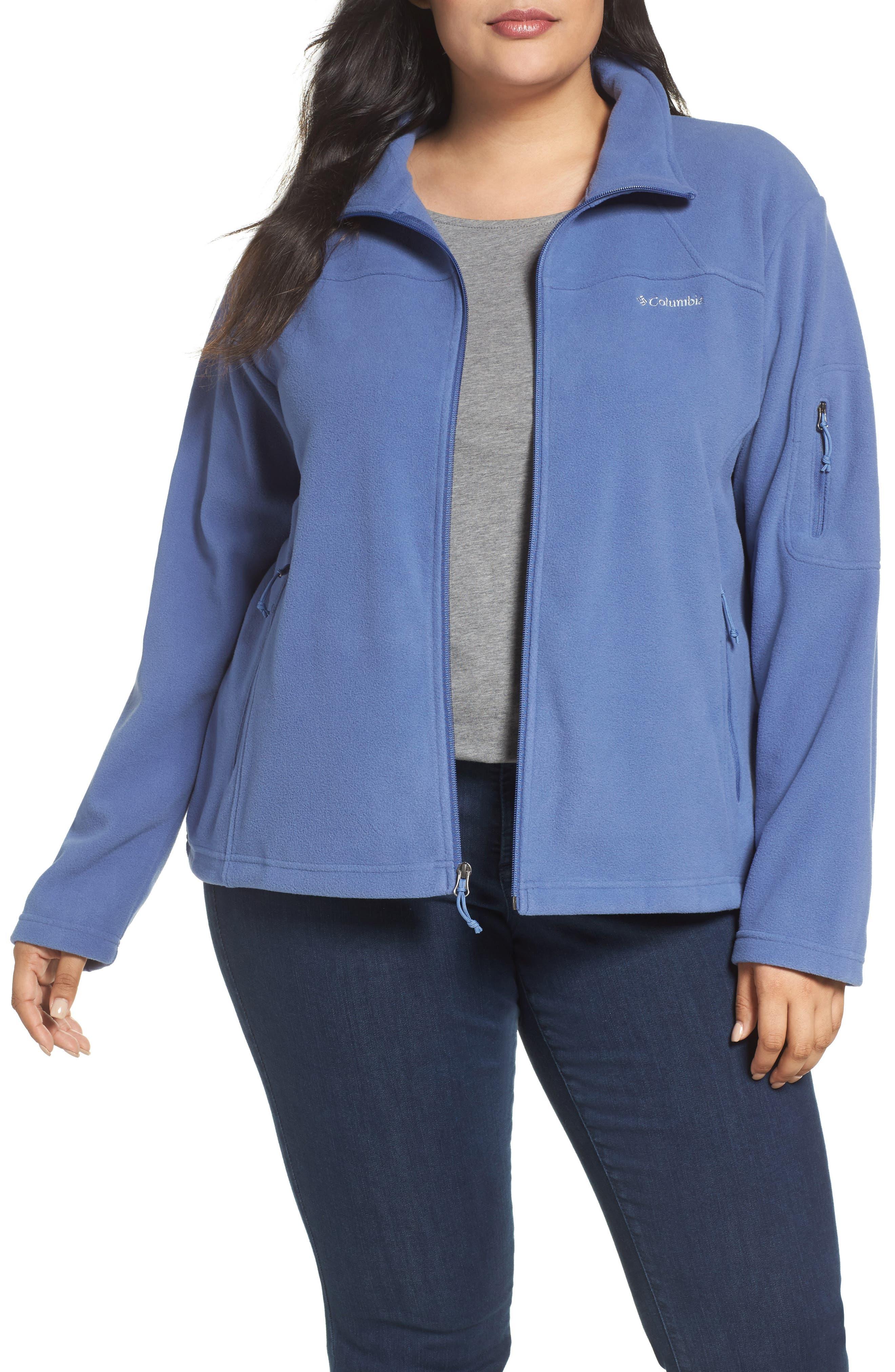 Columbia Fast Trek II Fleece Jacket (Plus Size)