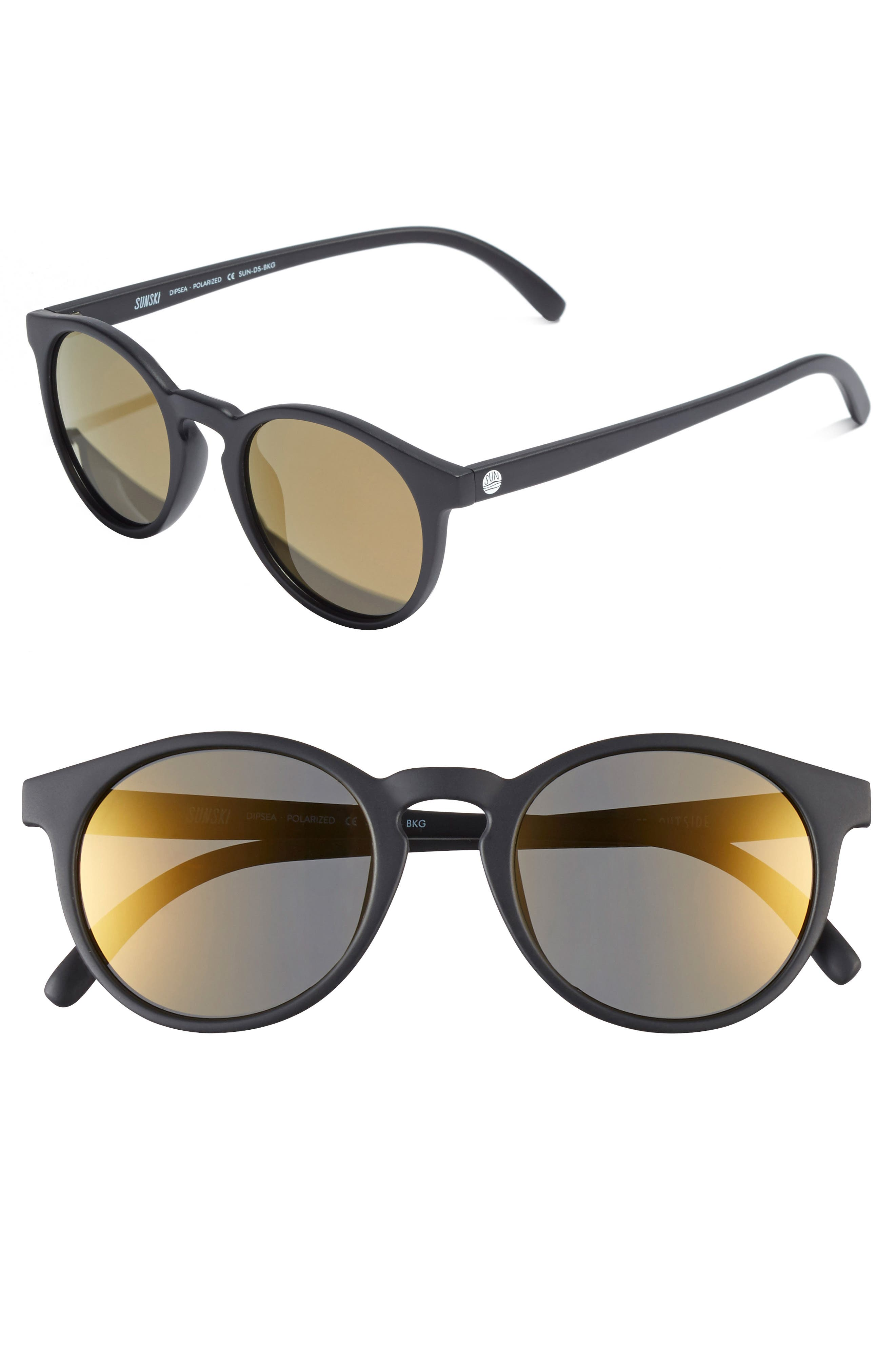 Sunski Dipsea 48mm Polarized Sunglasses