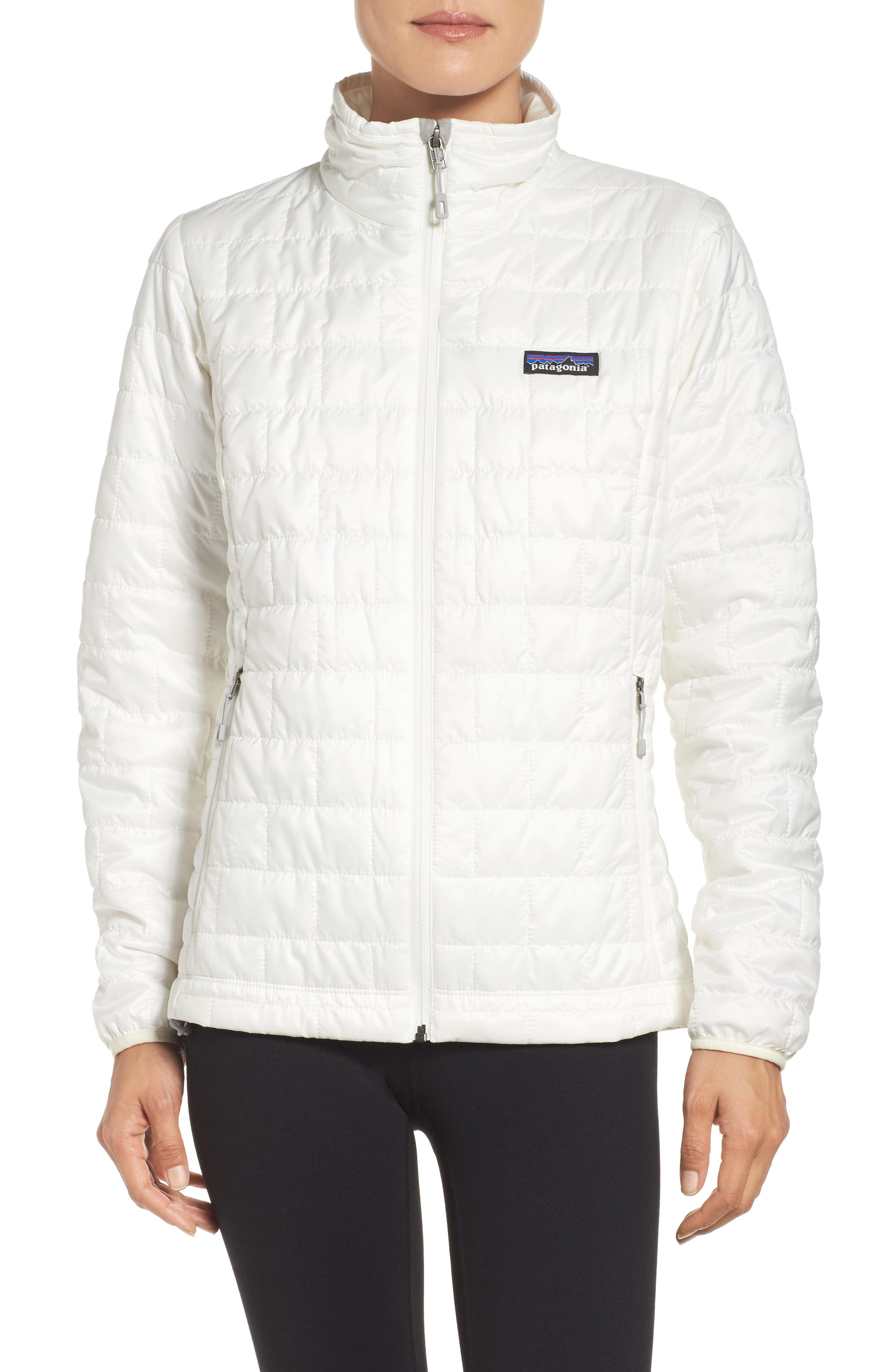 Nano Puff<sup>®</sup> Water Resistant Jacket,                         Main,                         color, Birch White