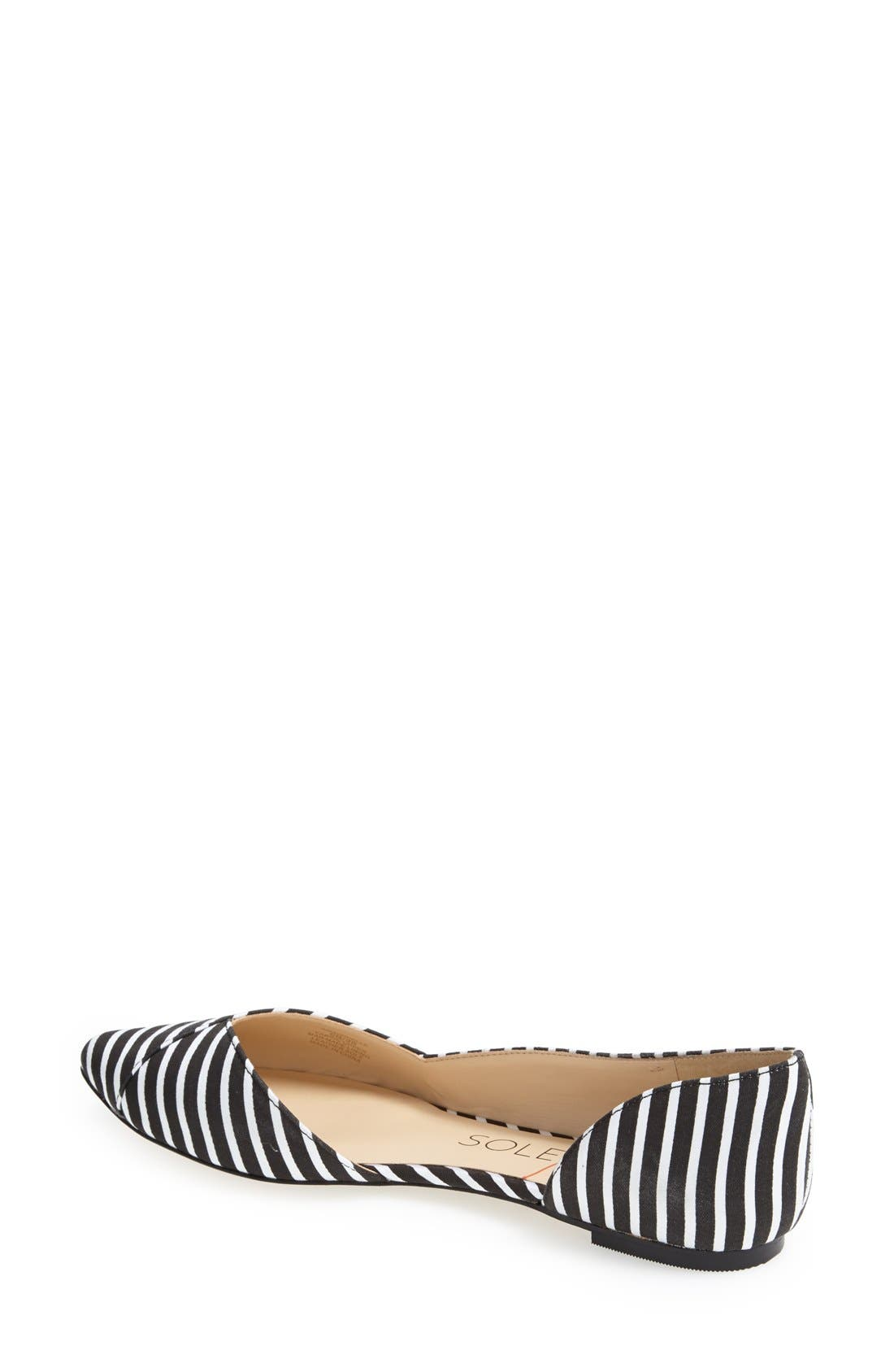 Alternate Image 2  - Sole Society 'Danielle' Pointy Toe Flat (Women)