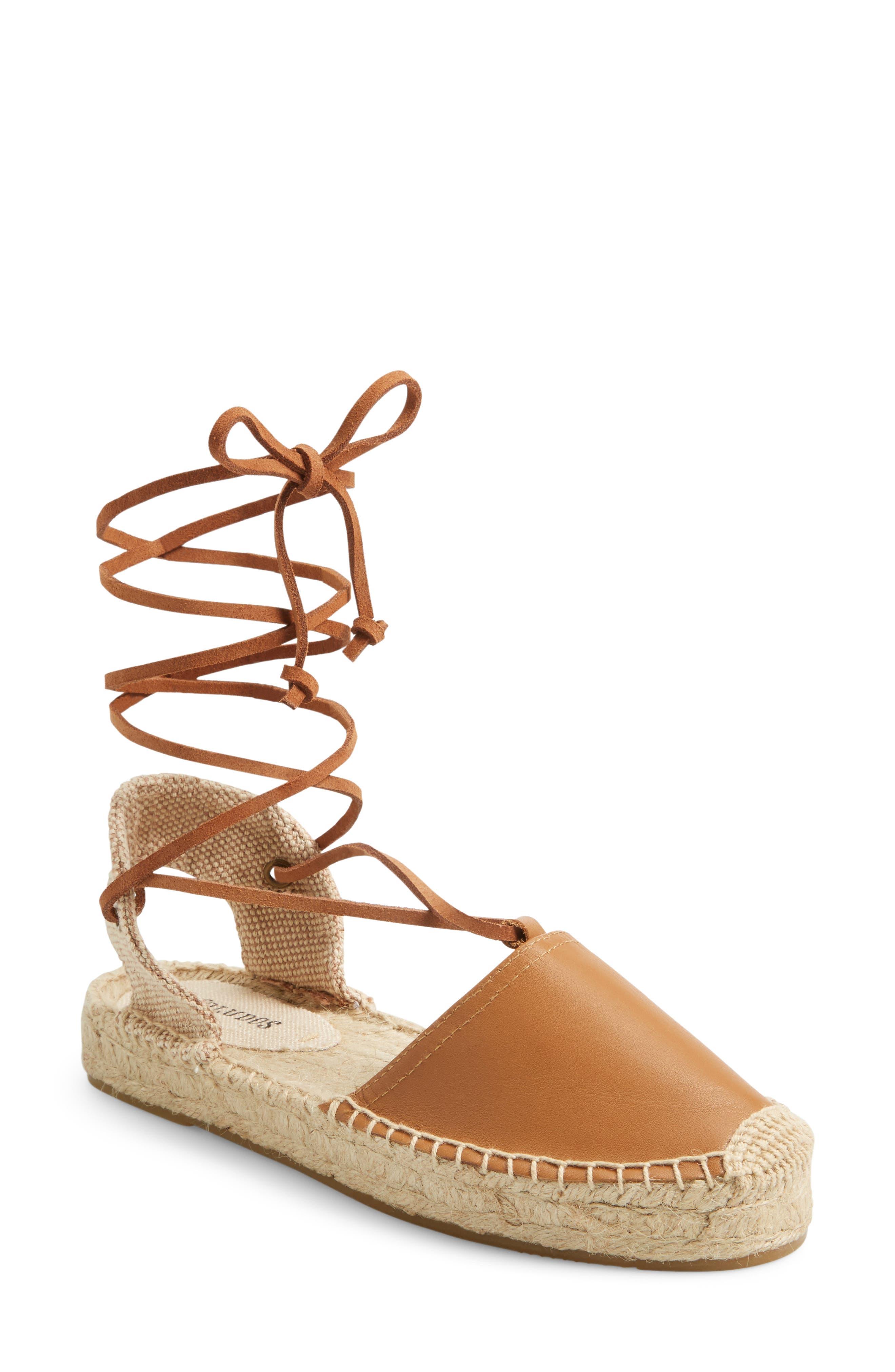 Alternate Image 1 Selected - Soludos Platform Sandal (Women)