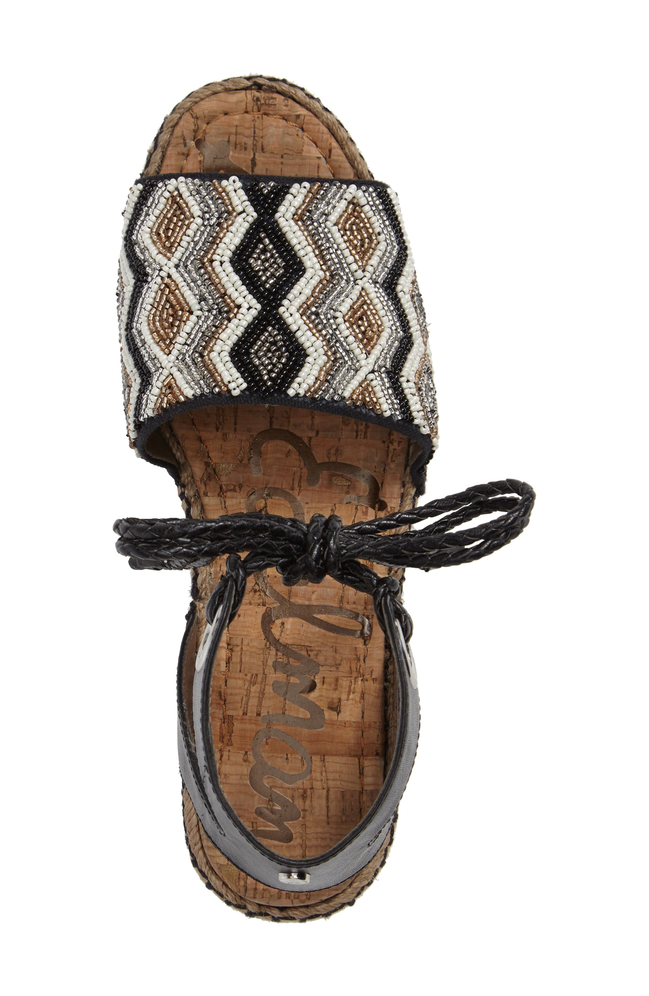 Alternate Image 3  - Sam Edelman Neera Espadrille Platform Sandal (Women)