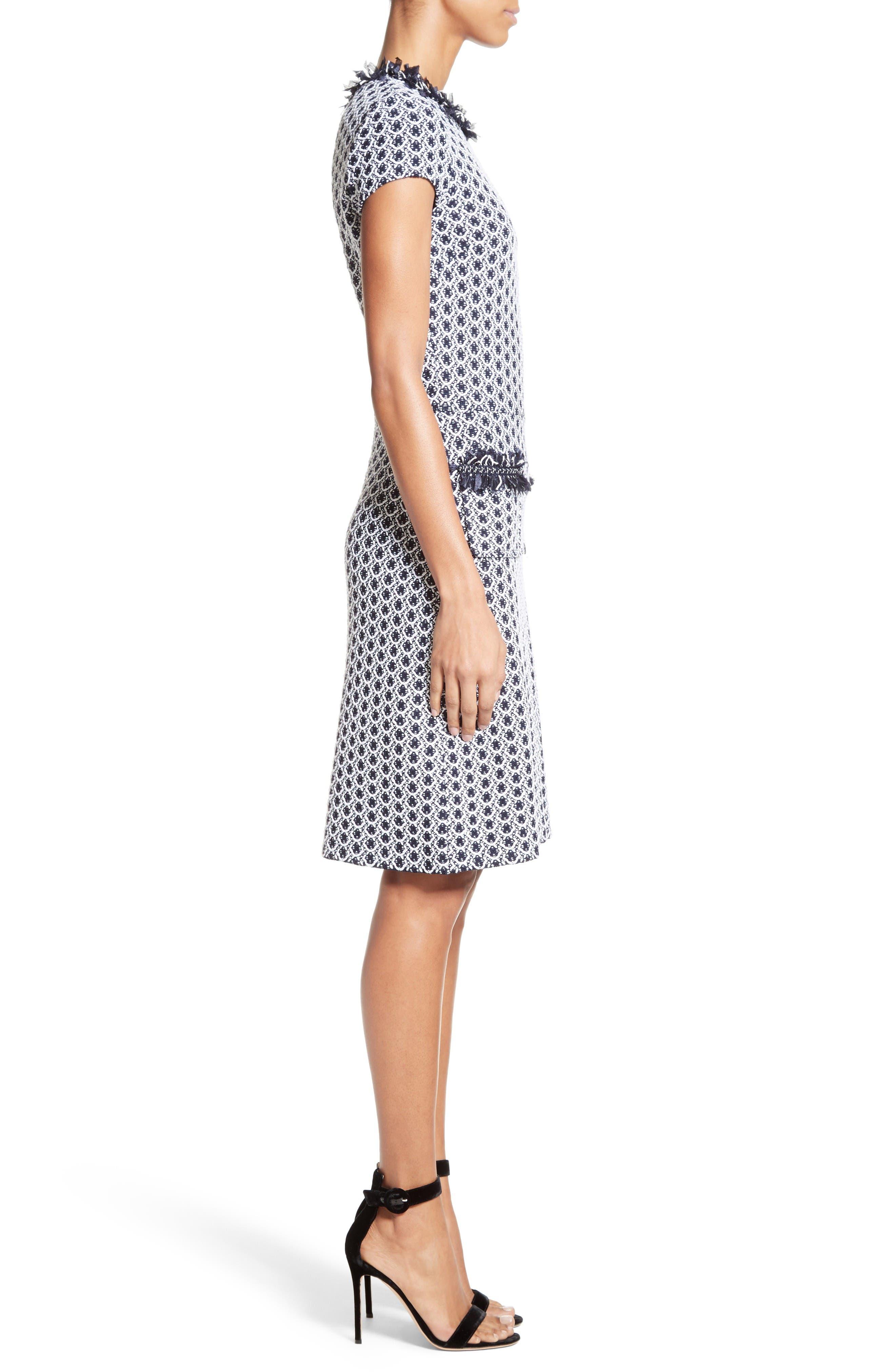 Alternate Image 3  - St. John Collection Aadi Tweed Knit Dress