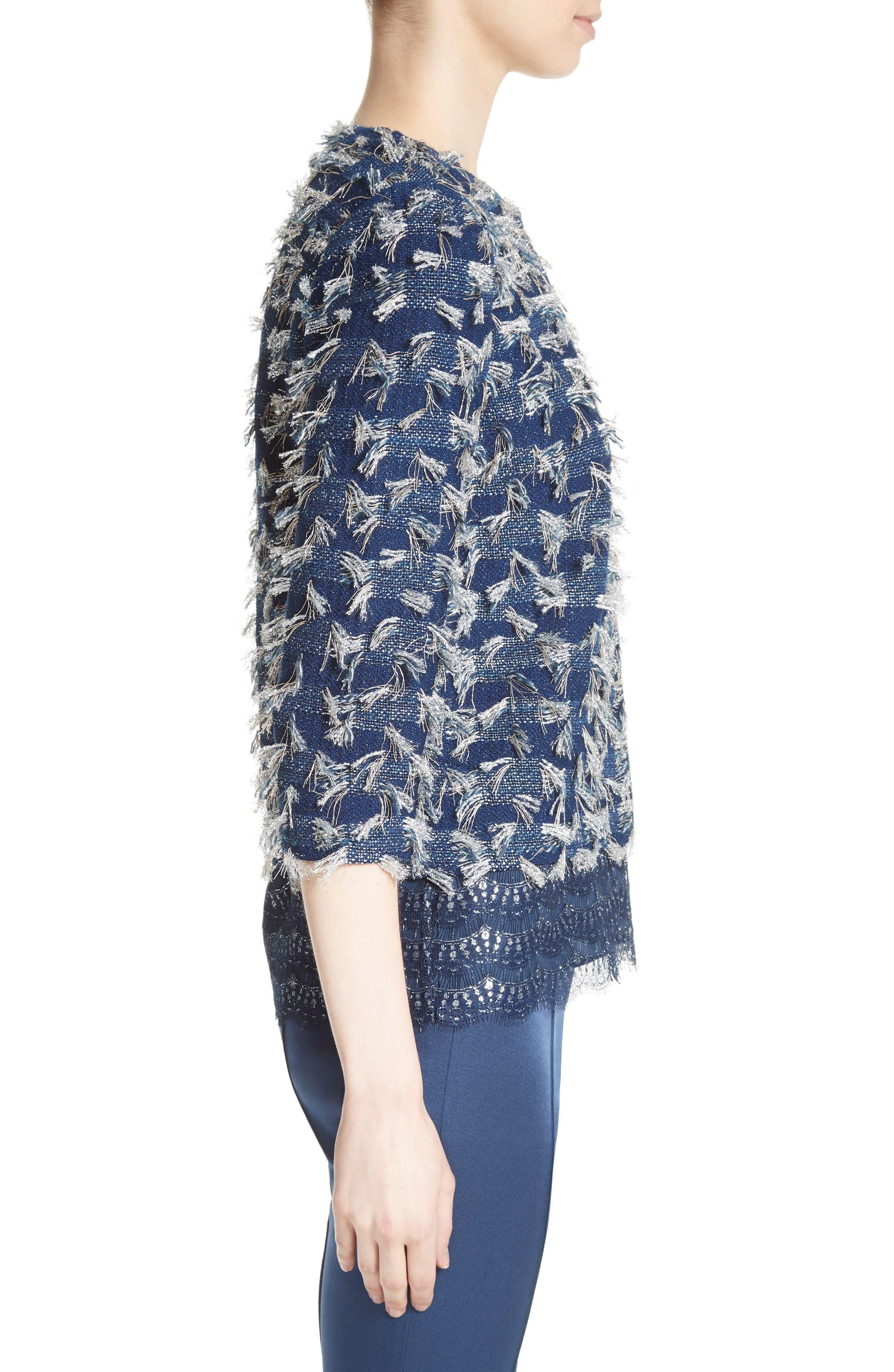 Alternate Image 3  - St. John Collection Lackshan Fil Coupé Tweed Jacket