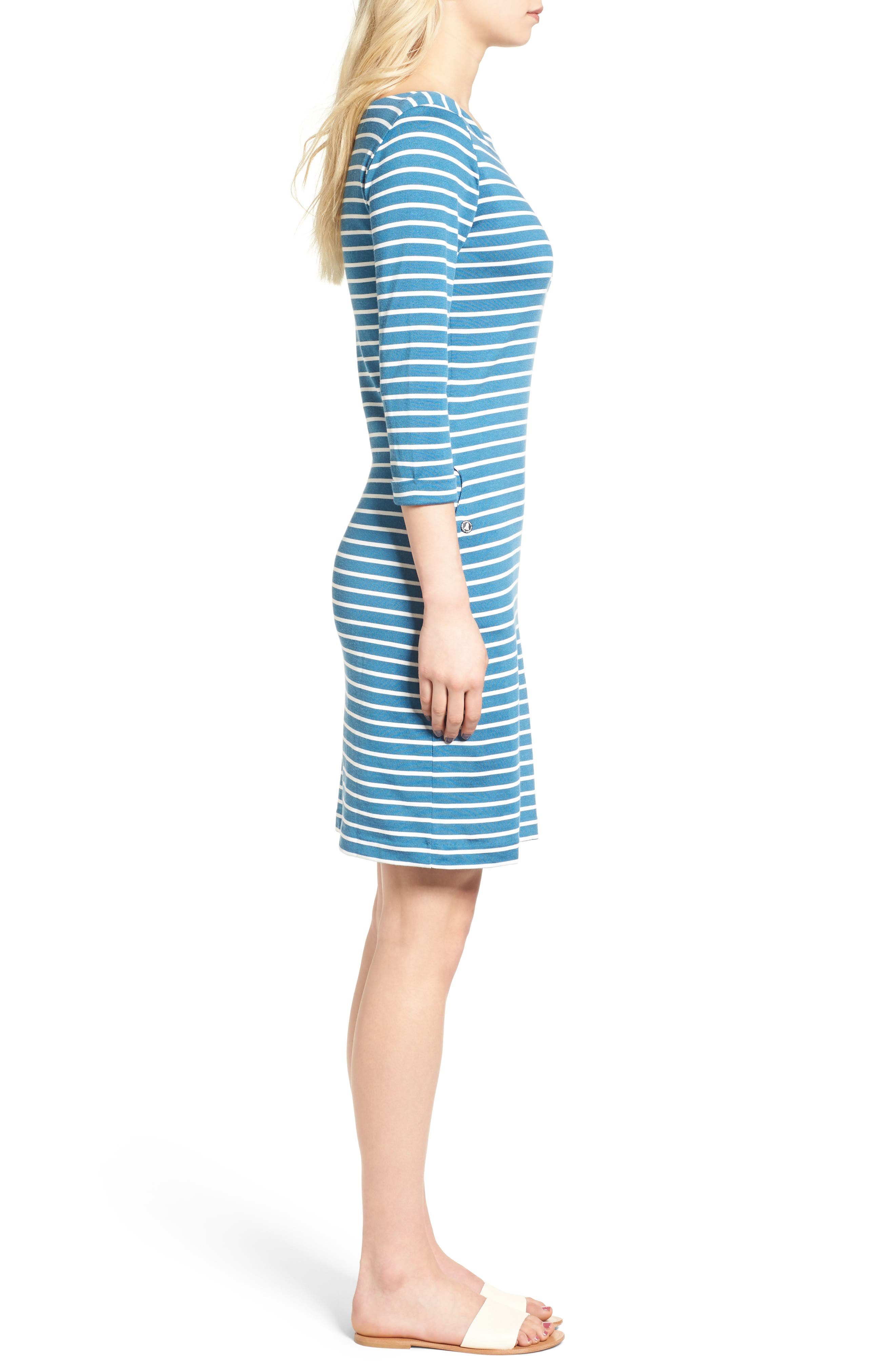 Alternate Image 3  - Barbour Wharf Stripe Jersey Dress