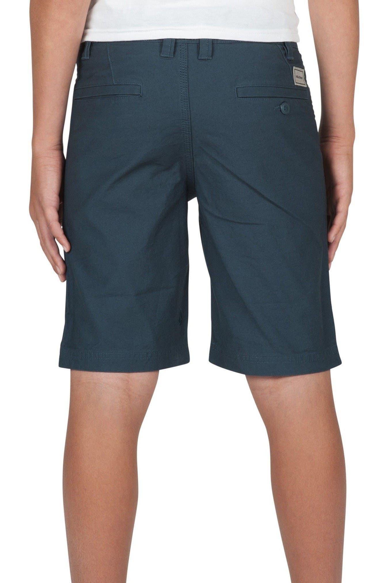 Alternate Image 2  - Volcom VSM Gritter Chino Shorts (Big Boys)
