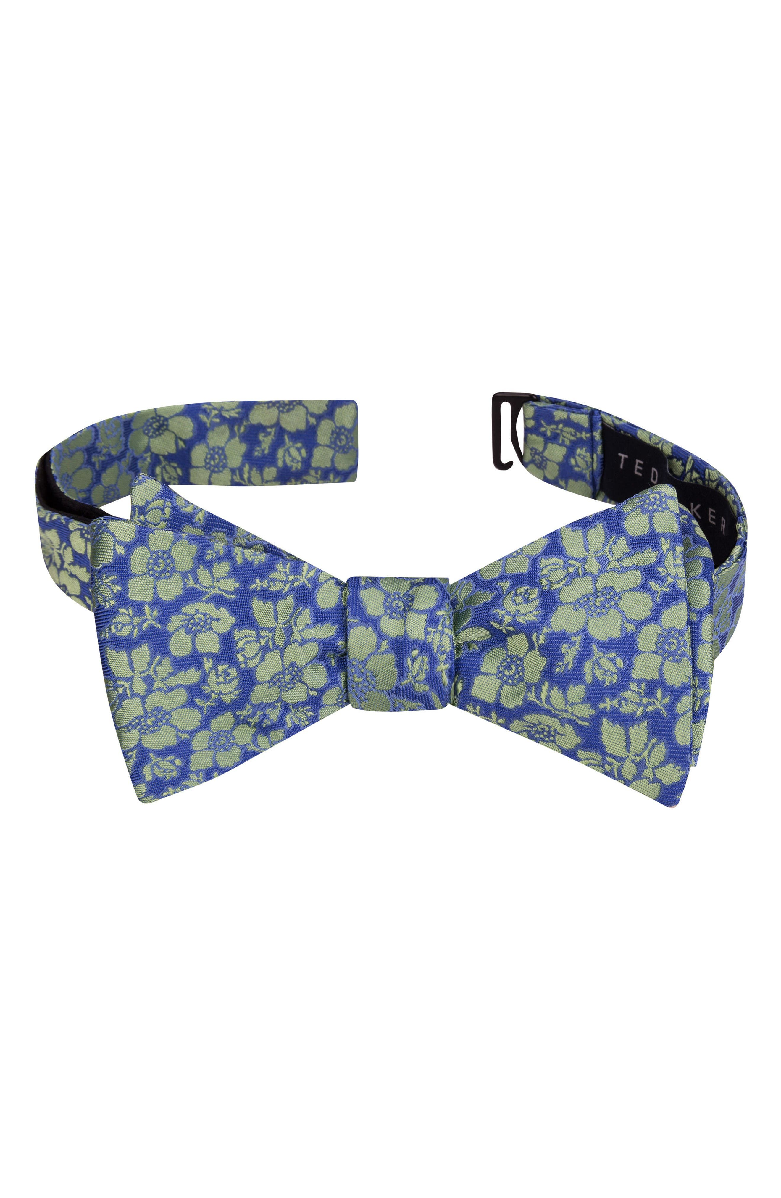 TED BAKER LONDON Picadilly Floral Silk Bow Tie