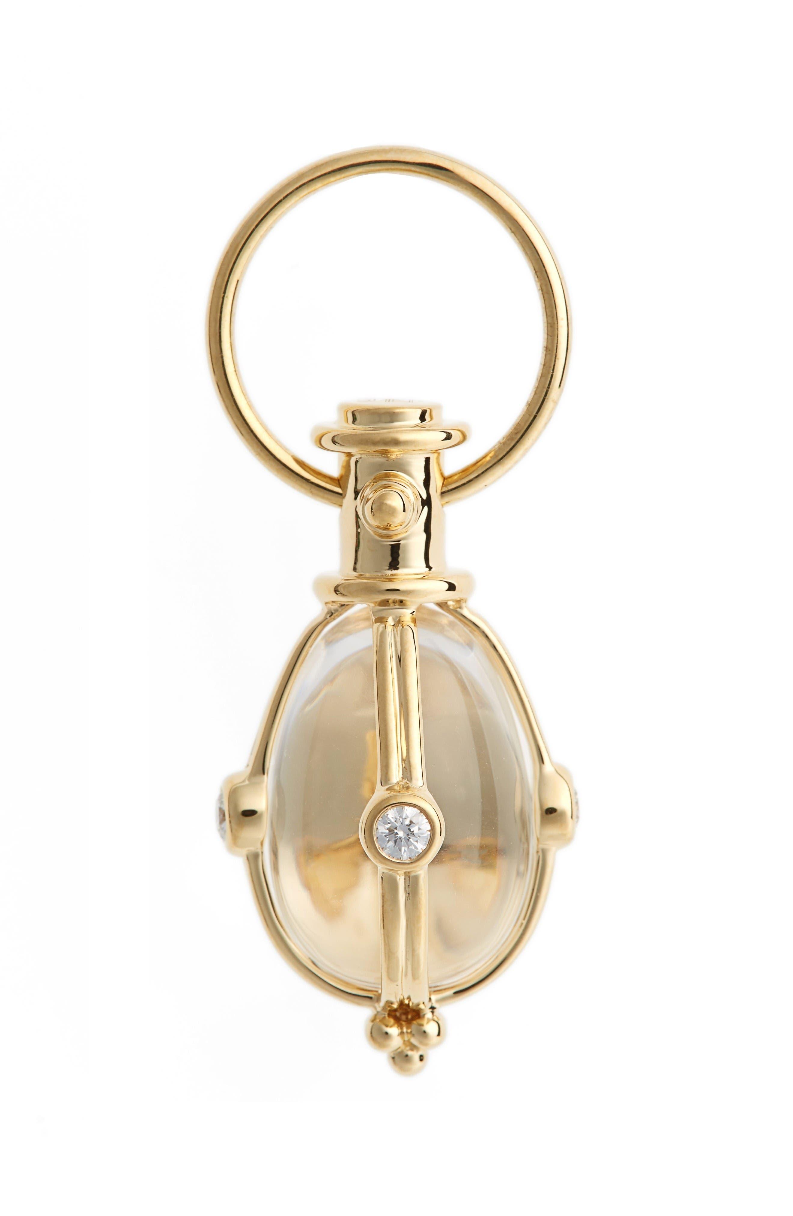 Main Image - Temple St. Clair Classic Diamond & Rock Crystal Amulet