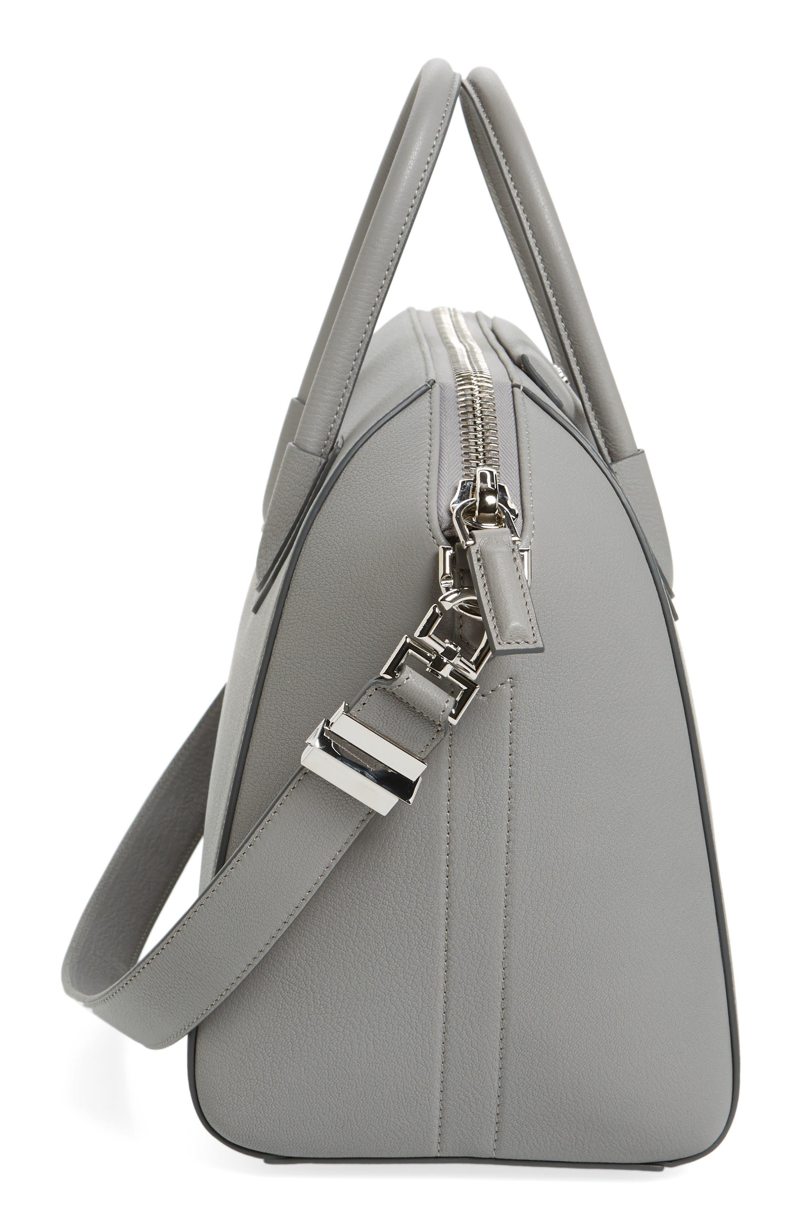 Alternate Image 5  - Givenchy 'Medium Antigona' Sugar Leather Satchel