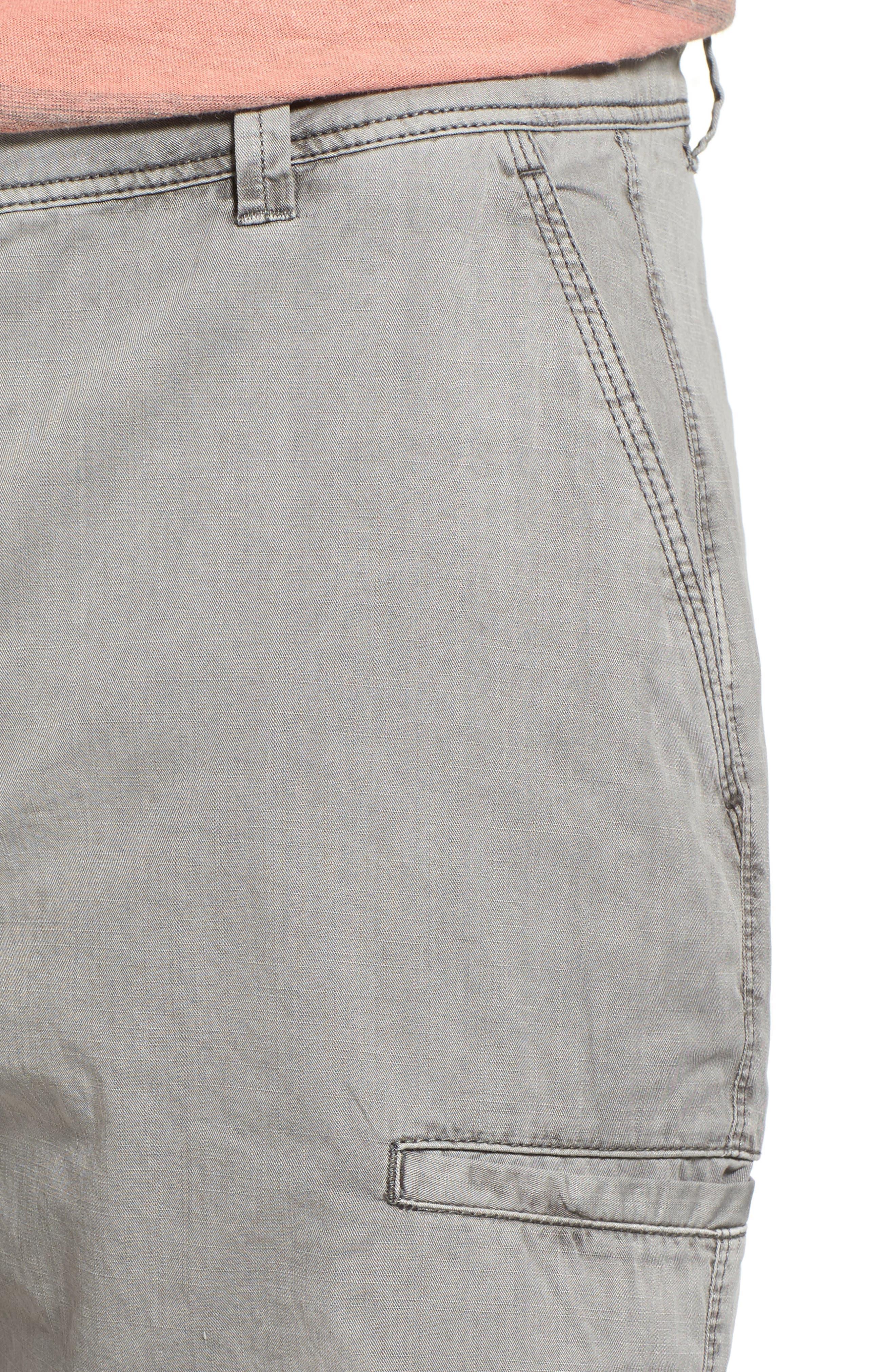 Alternate Image 4  - Jeremiah Merrill Pigment Slub Poplin Shorts