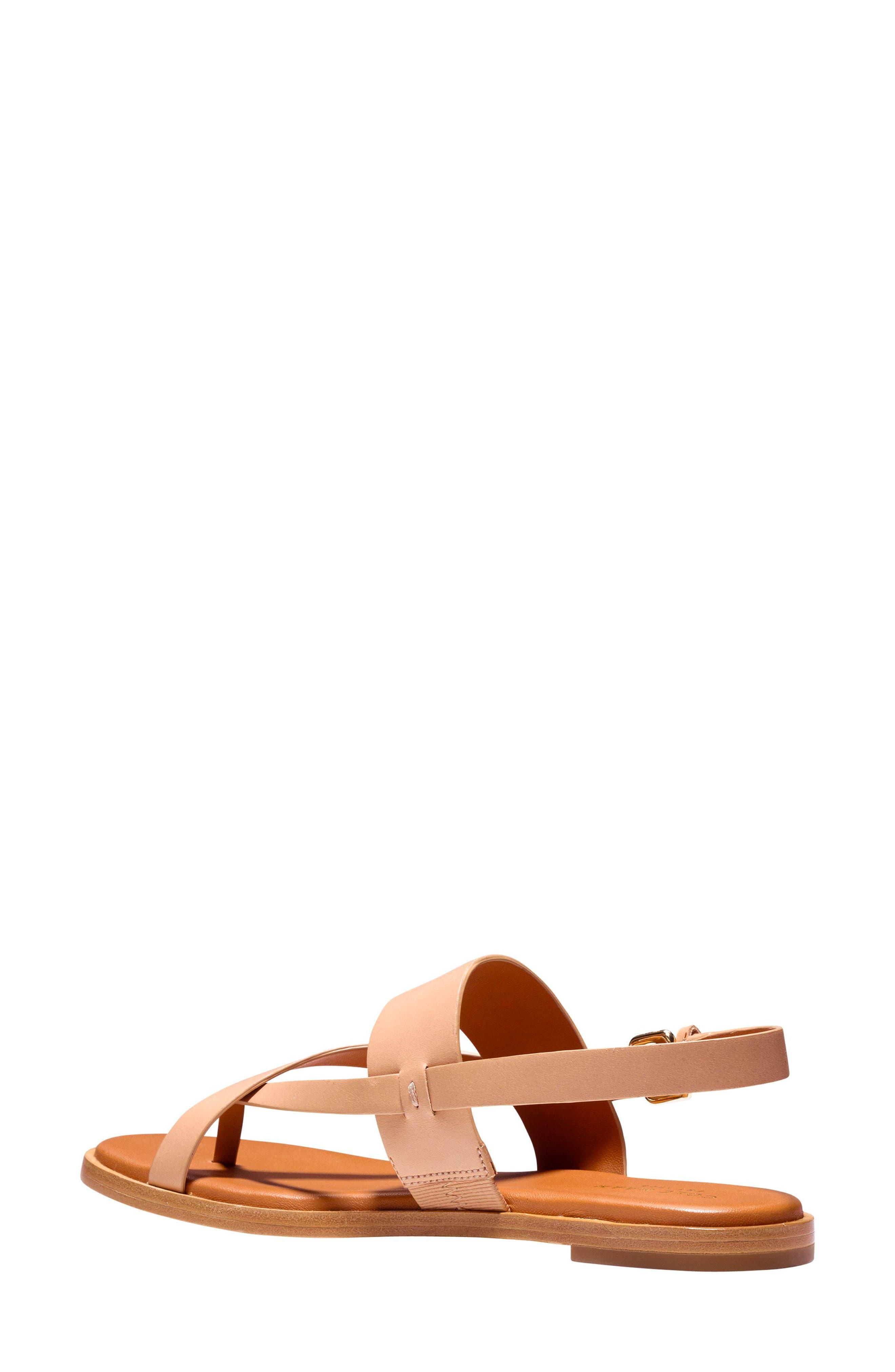 Anica Sandal,                             Alternate thumbnail 2, color,                             Sahara Leather