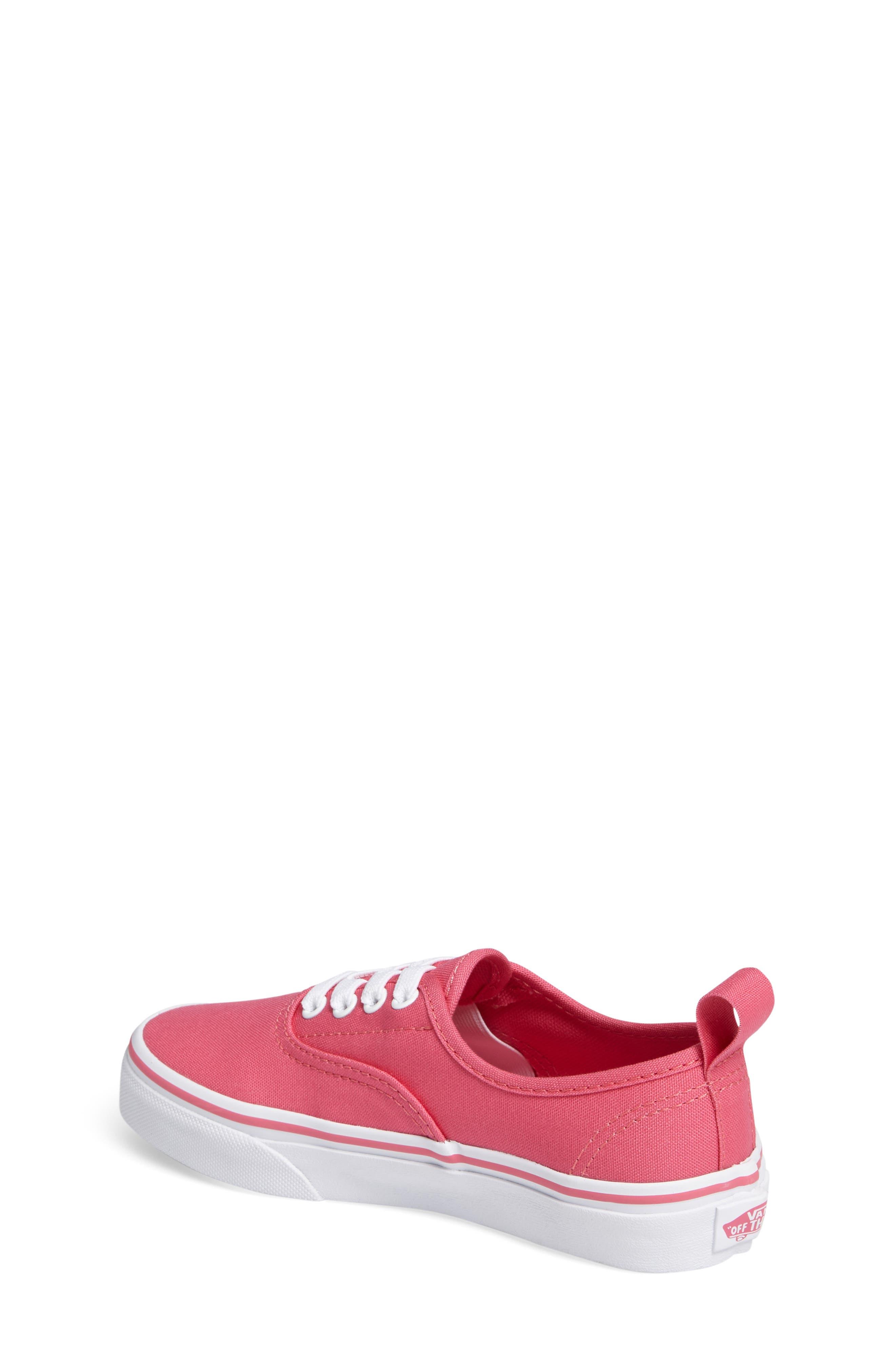Alternate Image 2  - Vans Authentic Elastic Lace Sneaker (Baby, Walker, Toddler, Little Kid & Big Kid)