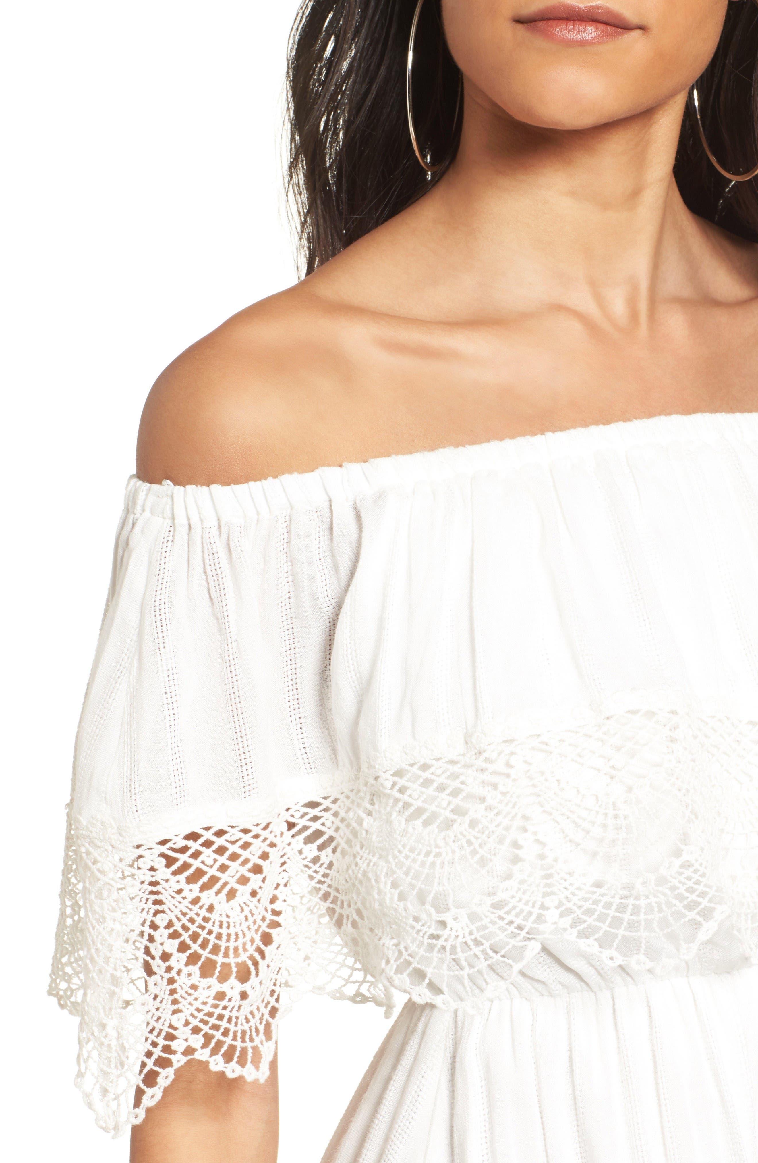 Alternate Image 4  - Off the Shoulder Dress