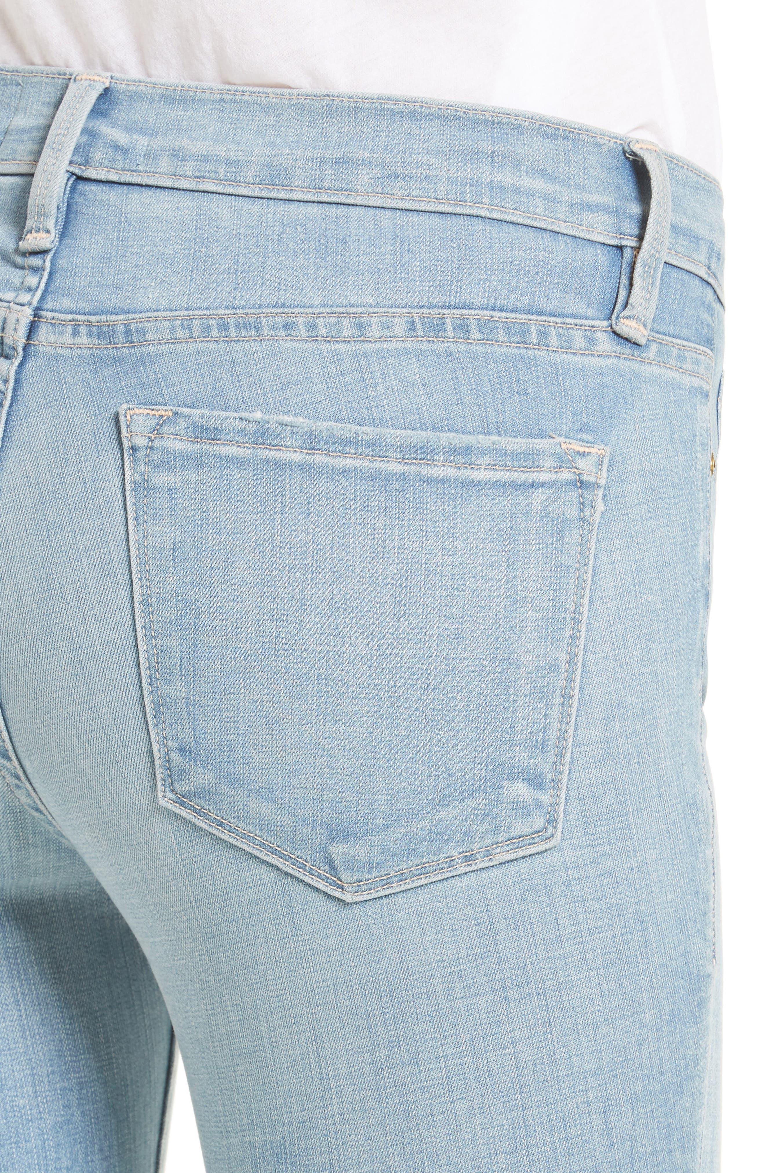 Alternate Image 4  - FRAME 'Le Skinny de Jeanne' Jeans (Antibes)