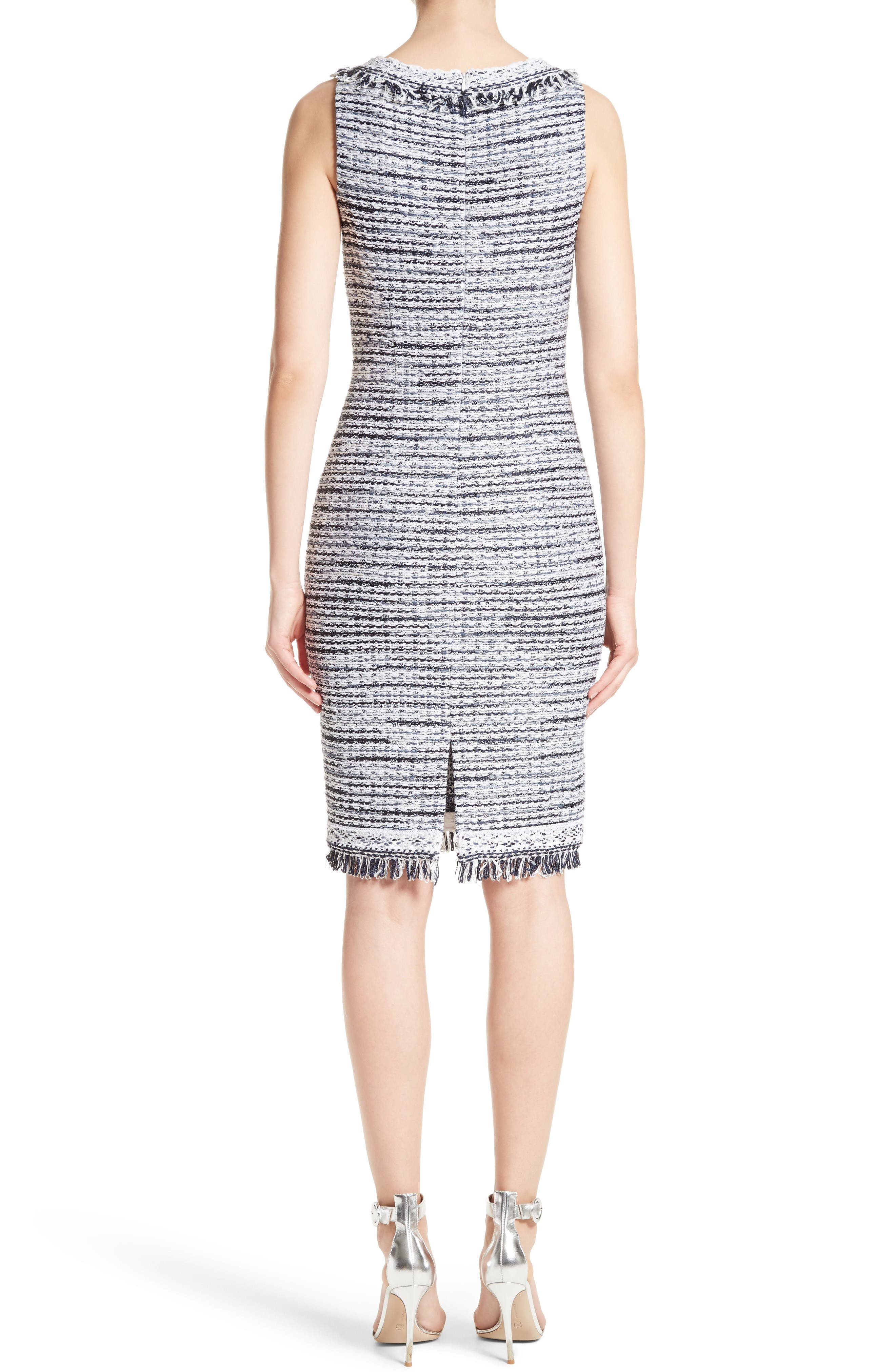 Alternate Image 2  - S. John Collection Tanya Knit Pencil Dress