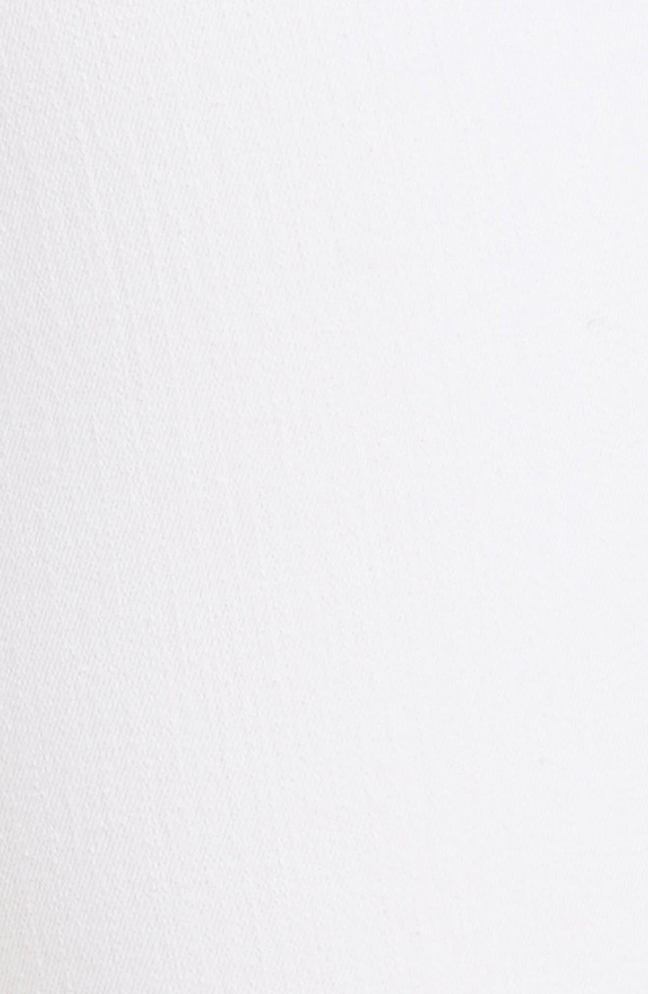'Le Skinny de Jeanne' Ripped Jeans,                             Alternate thumbnail 5, color,                             Blanc Jefferson