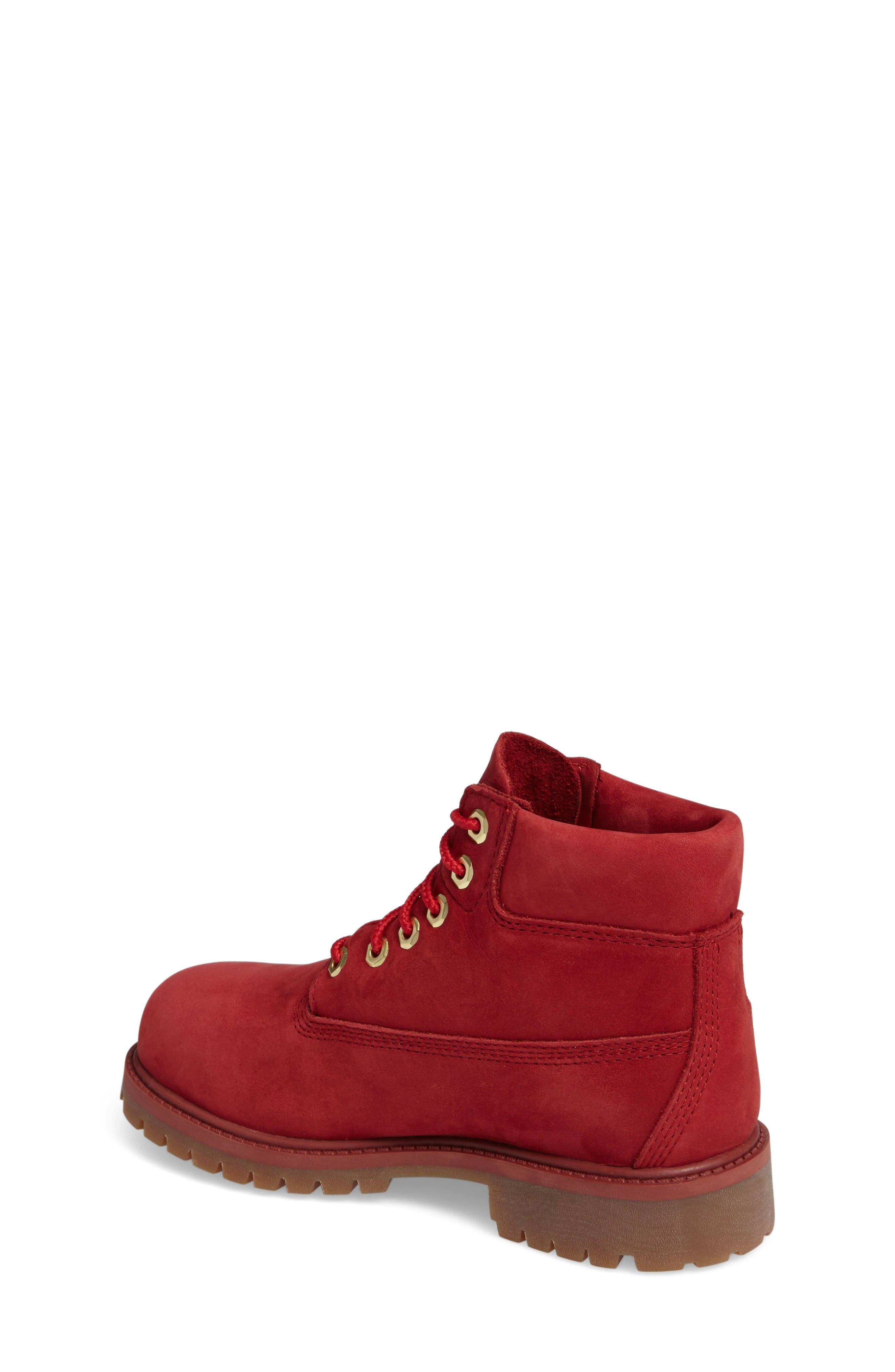 40th Anniversary Ruby Red Waterproof Boot,                             Alternate thumbnail 2, color,                             Ruby Red Waterbuck