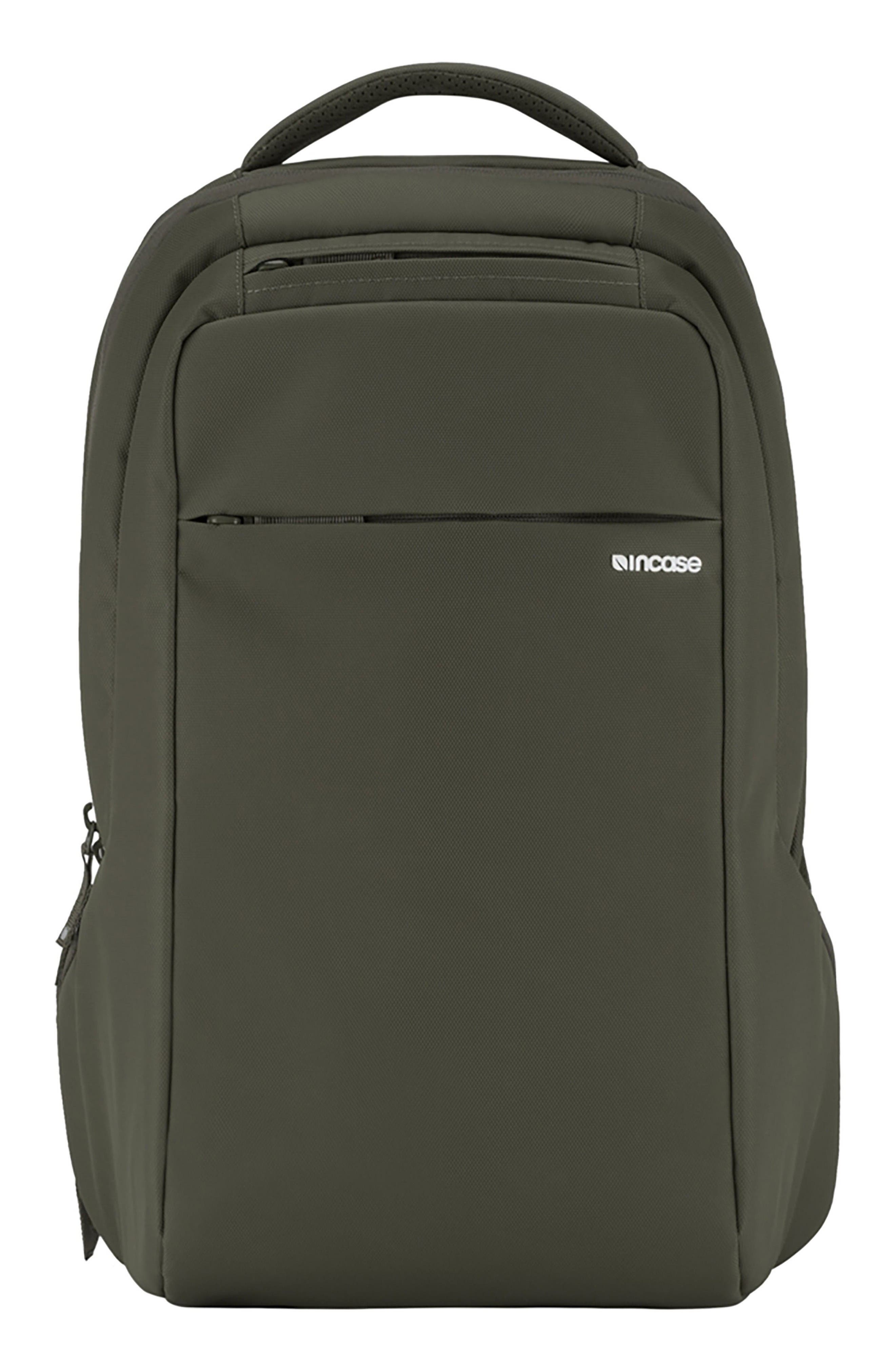 Icon Slim Backpack,                         Main,                         color, Anthracite